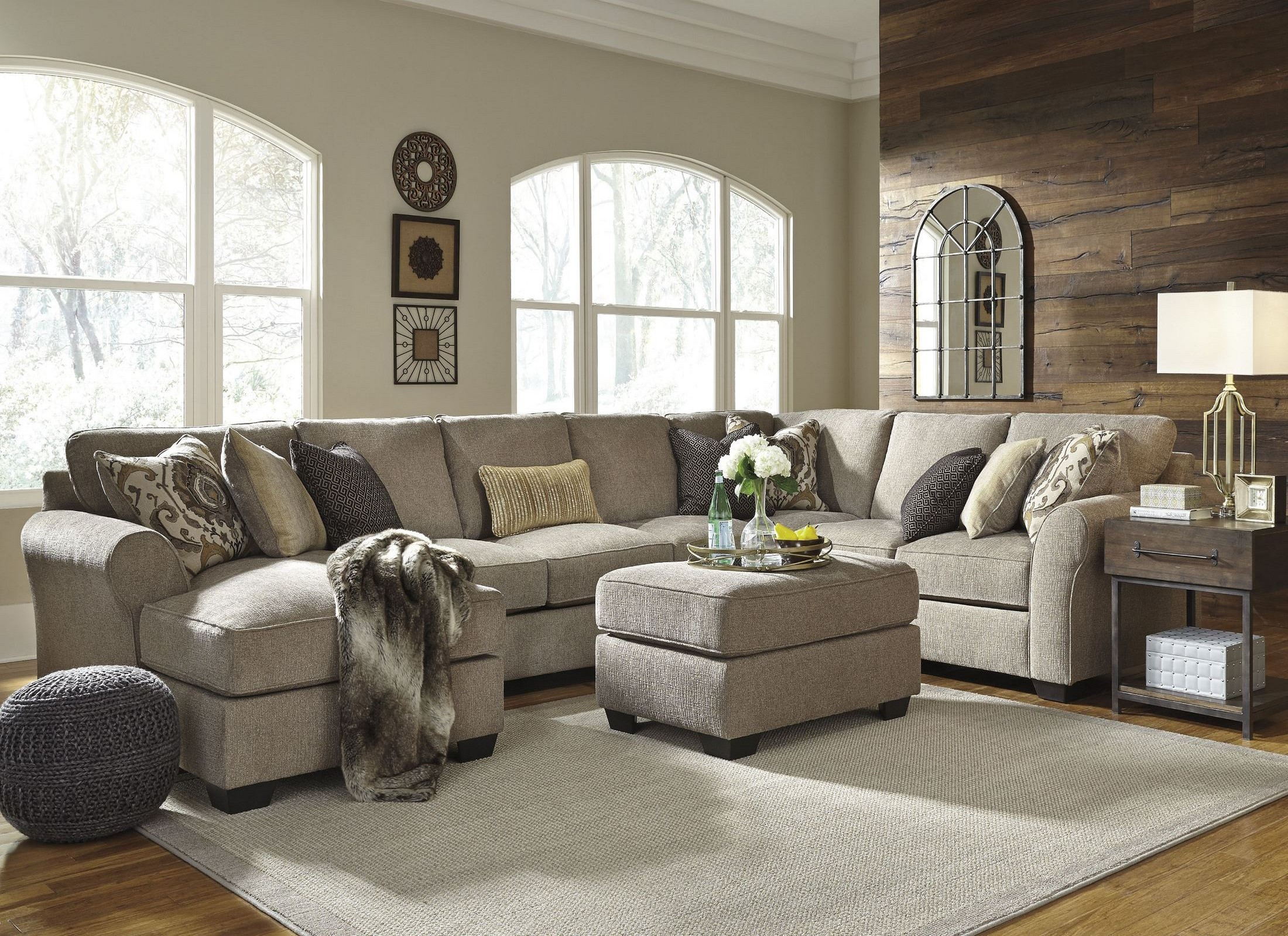 2297469 : loveseat and chaise sectional - Sectionals, Sofas & Couches