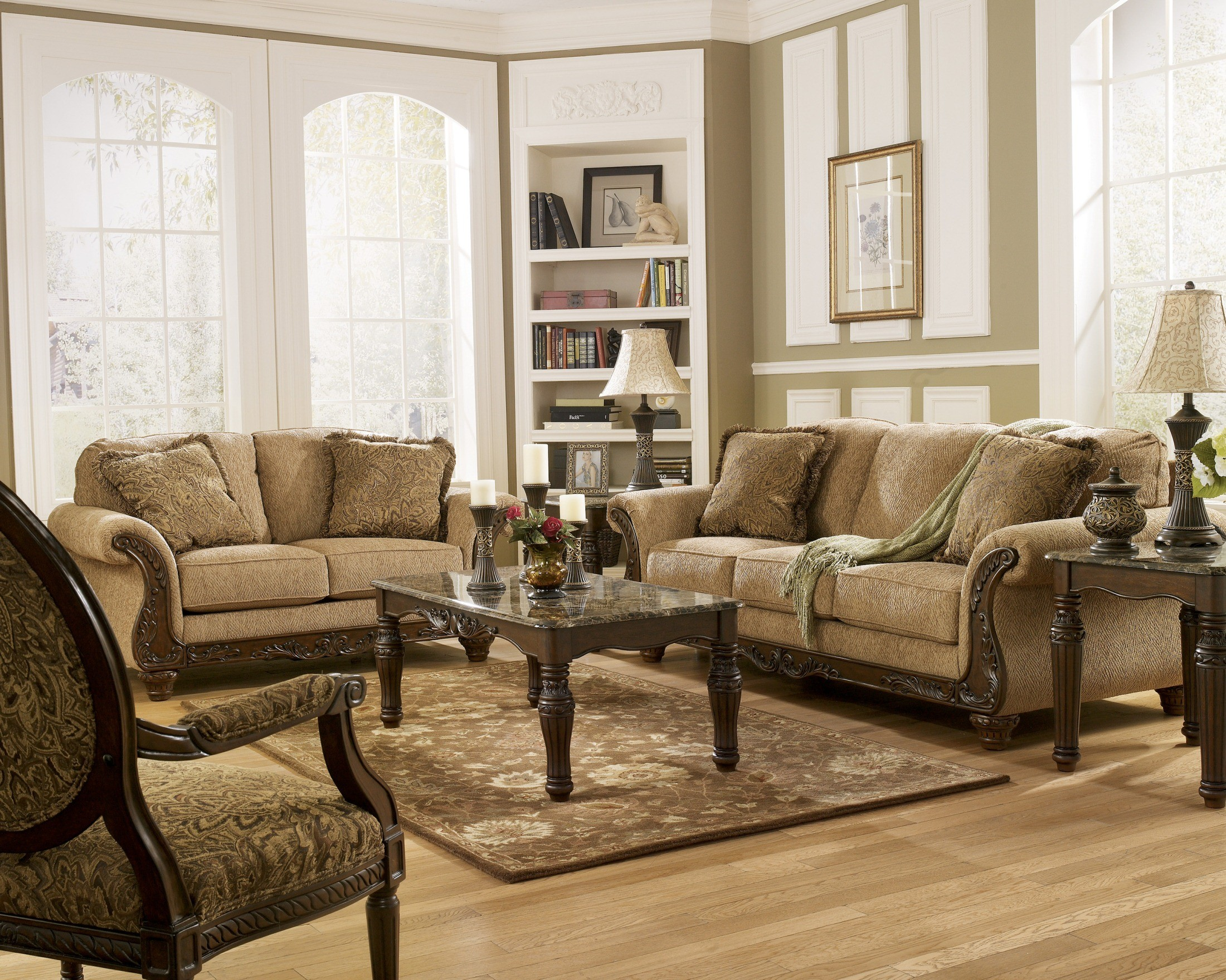 Cambridge Amber Living Room Set from Ashley (3940138 ...