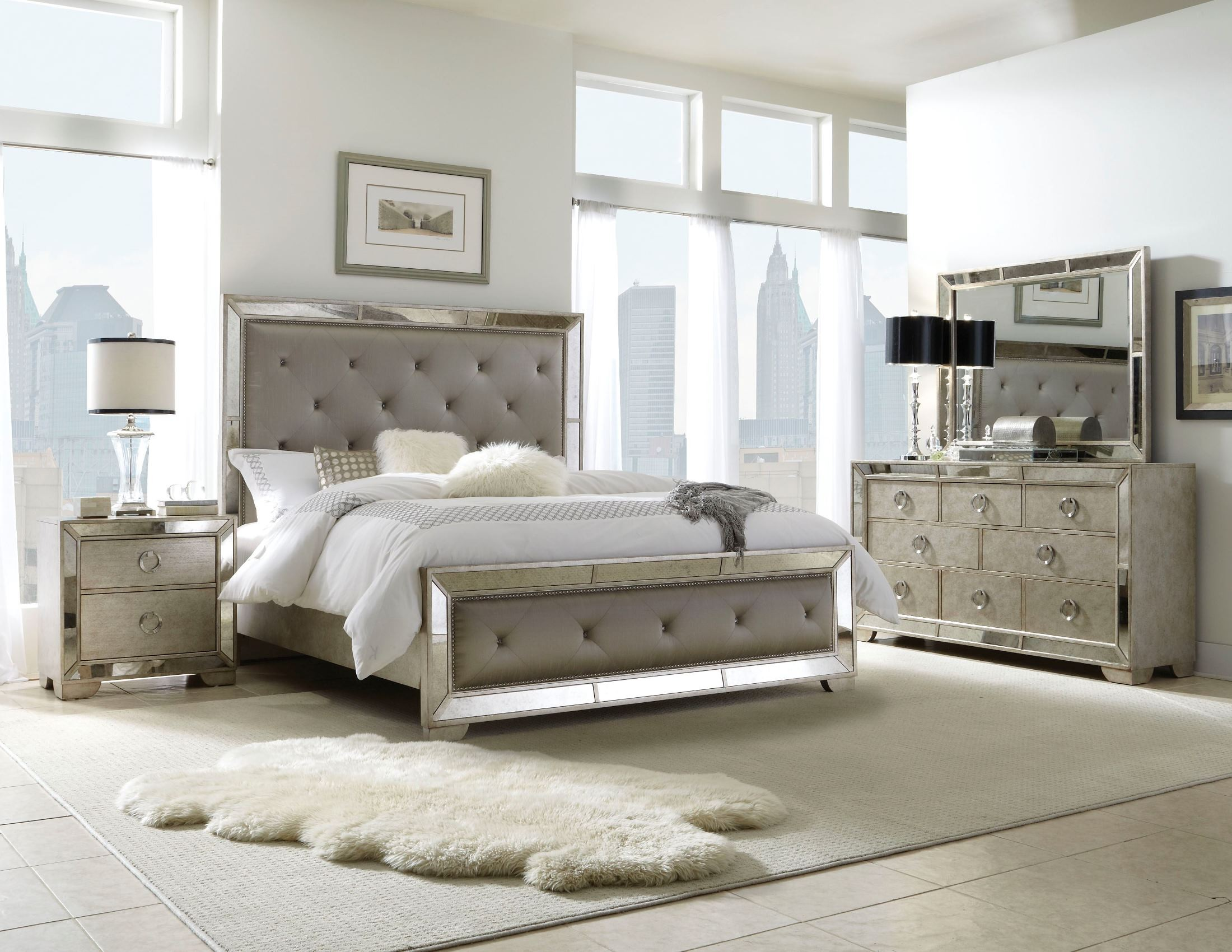 Farrah Platform Bedroom Set435575