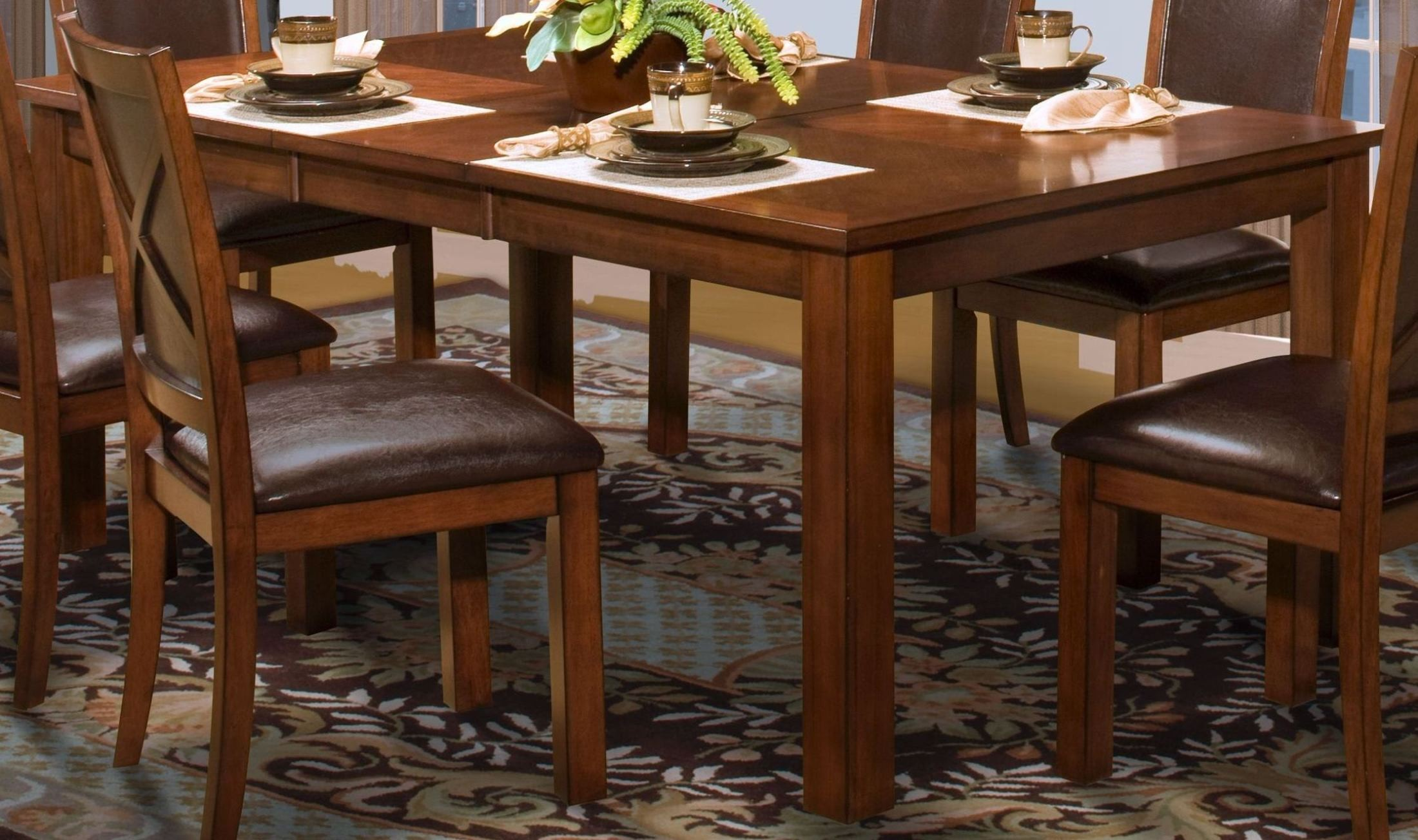 Aspen Standard Rectangular Extendable Dining Table From