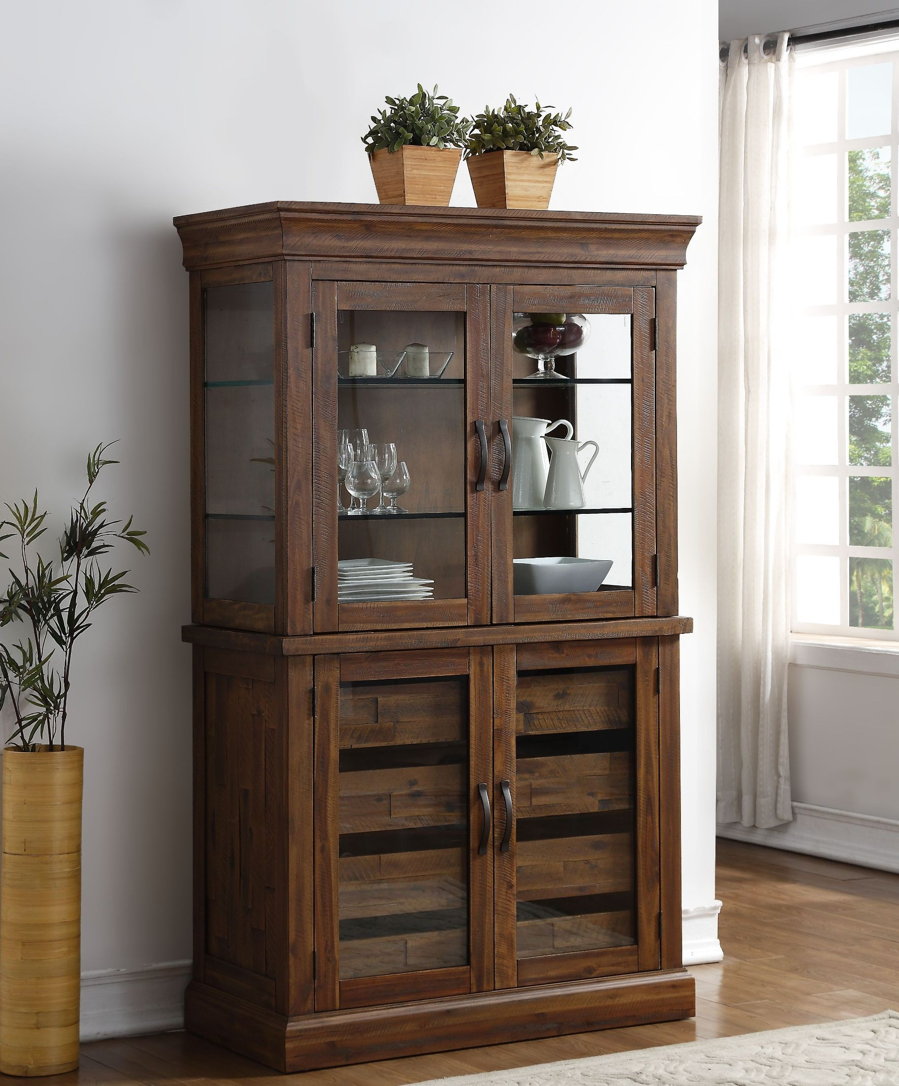 distressed curio cabinet normandy sawn distressed glass door curio cabinet from new 14850