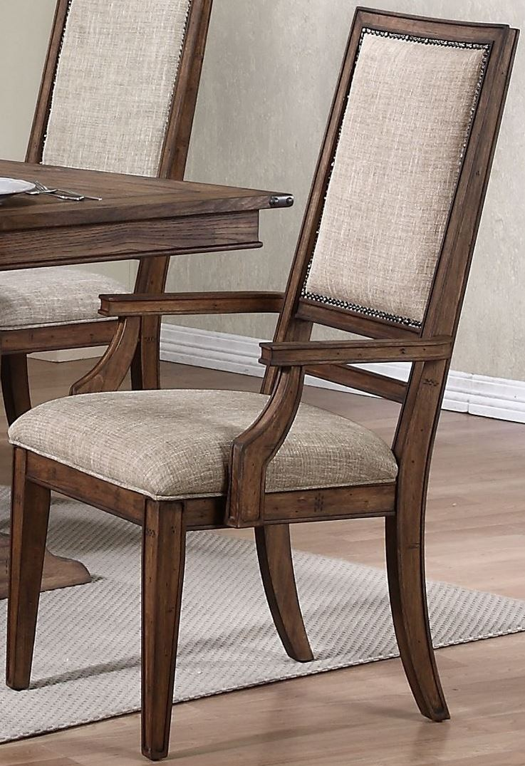 Distressed Oak Dining Chair