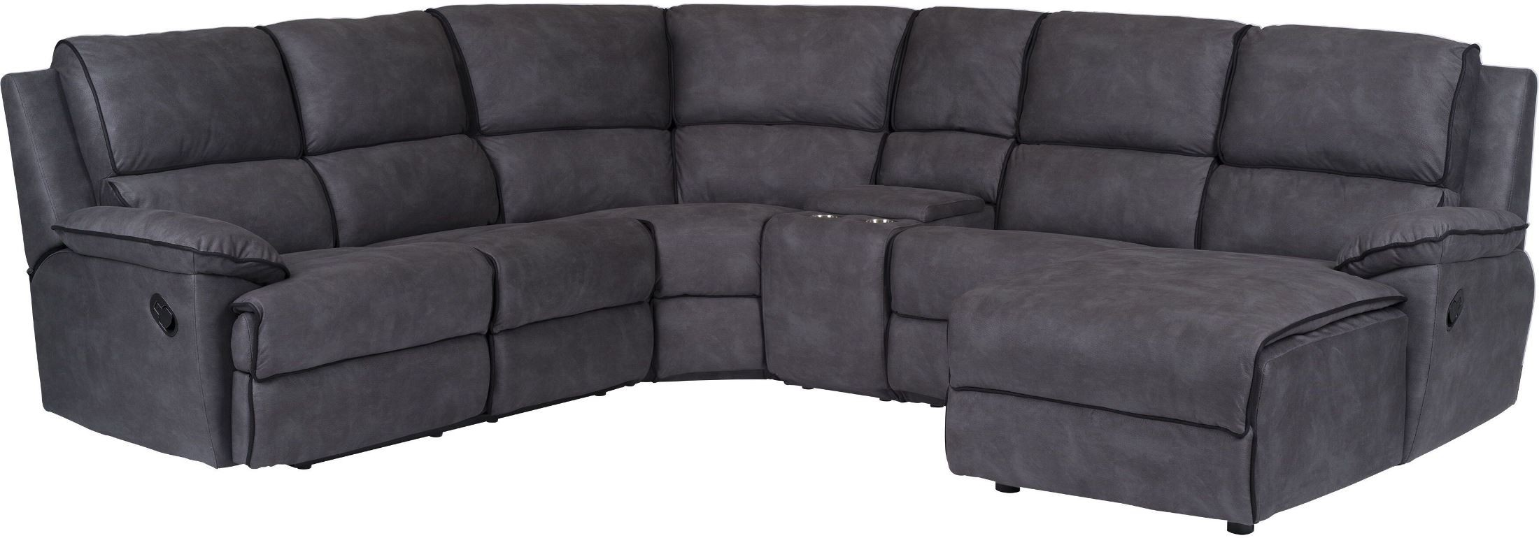 Neo Grey Sectional  sc 1 st  Coleman Furniture : grey sectional - Sectionals, Sofas & Couches