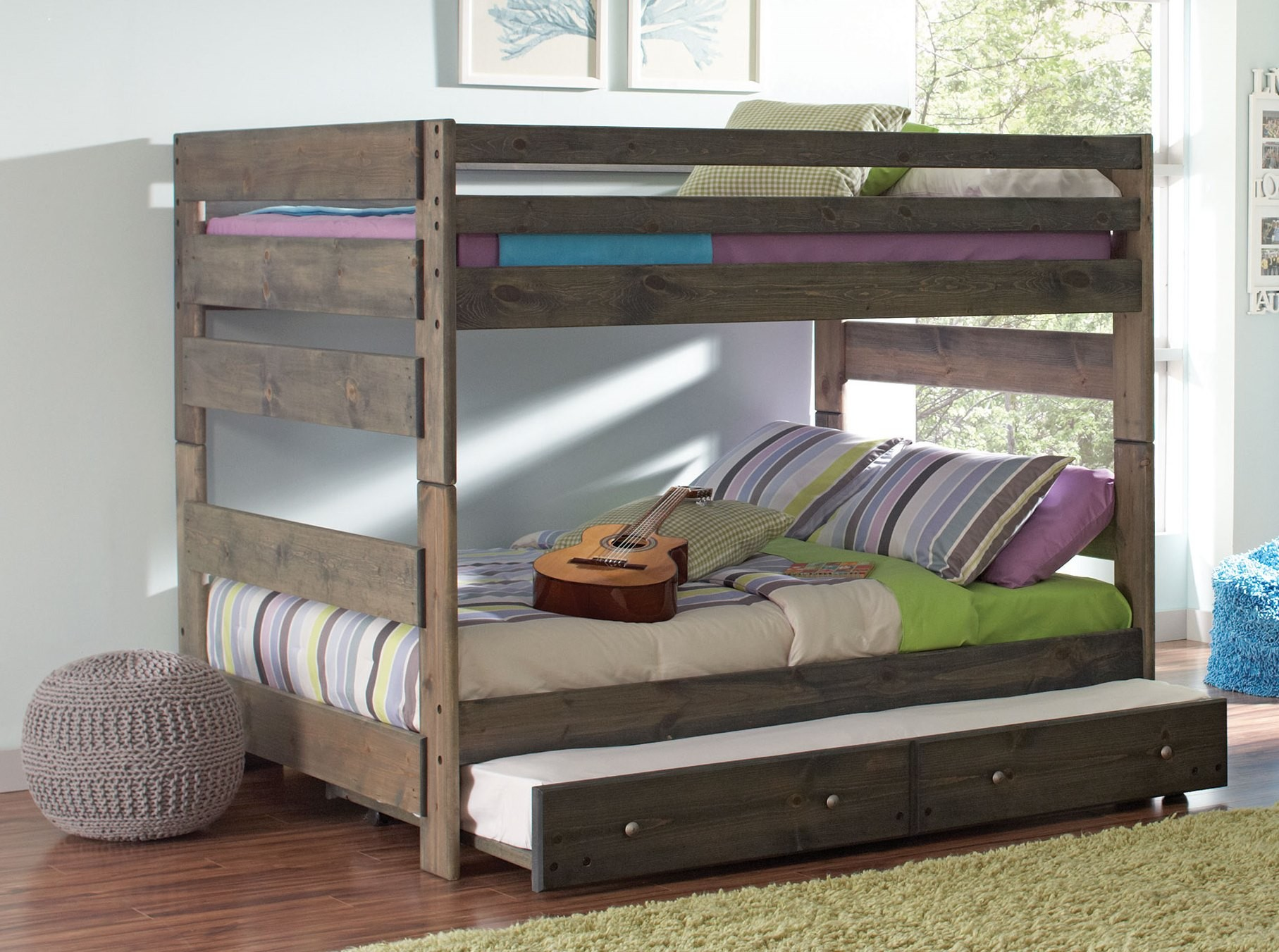 bedz bunk king trundle baby over full reviews pdx wayfair kids mission bed with