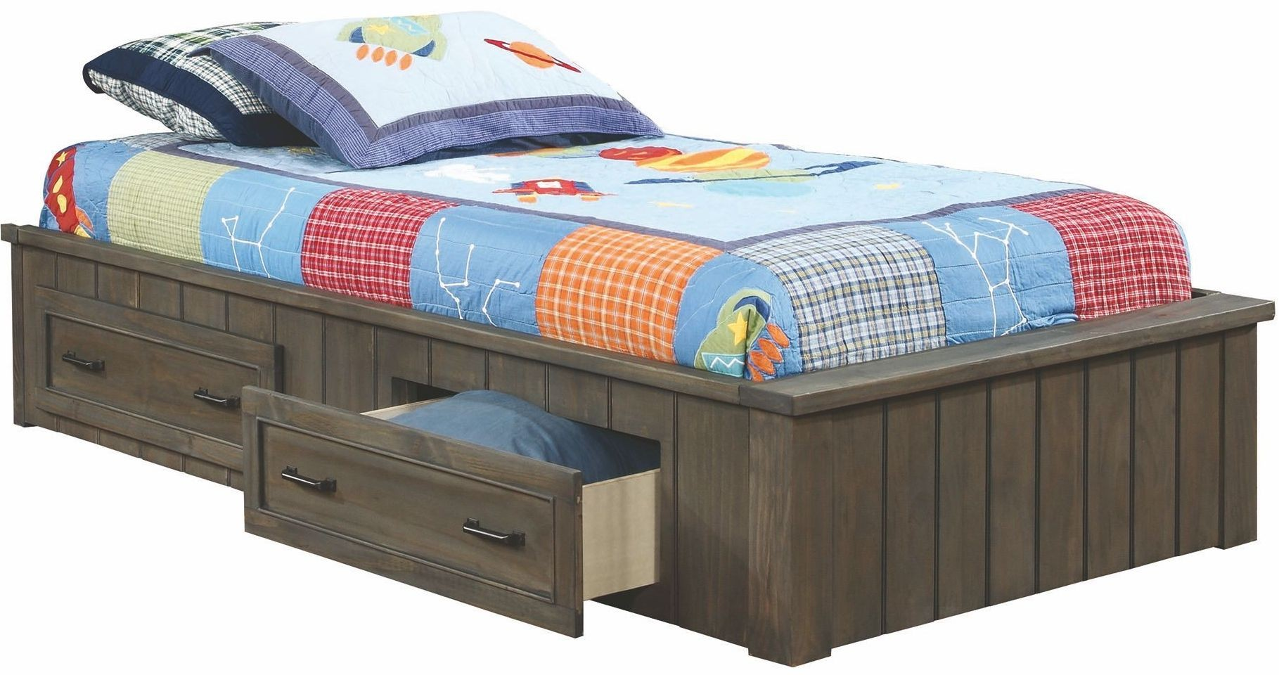 Napoleon gunsmoke youth bedroom set from coaster coleman for Youth bedroom furniture