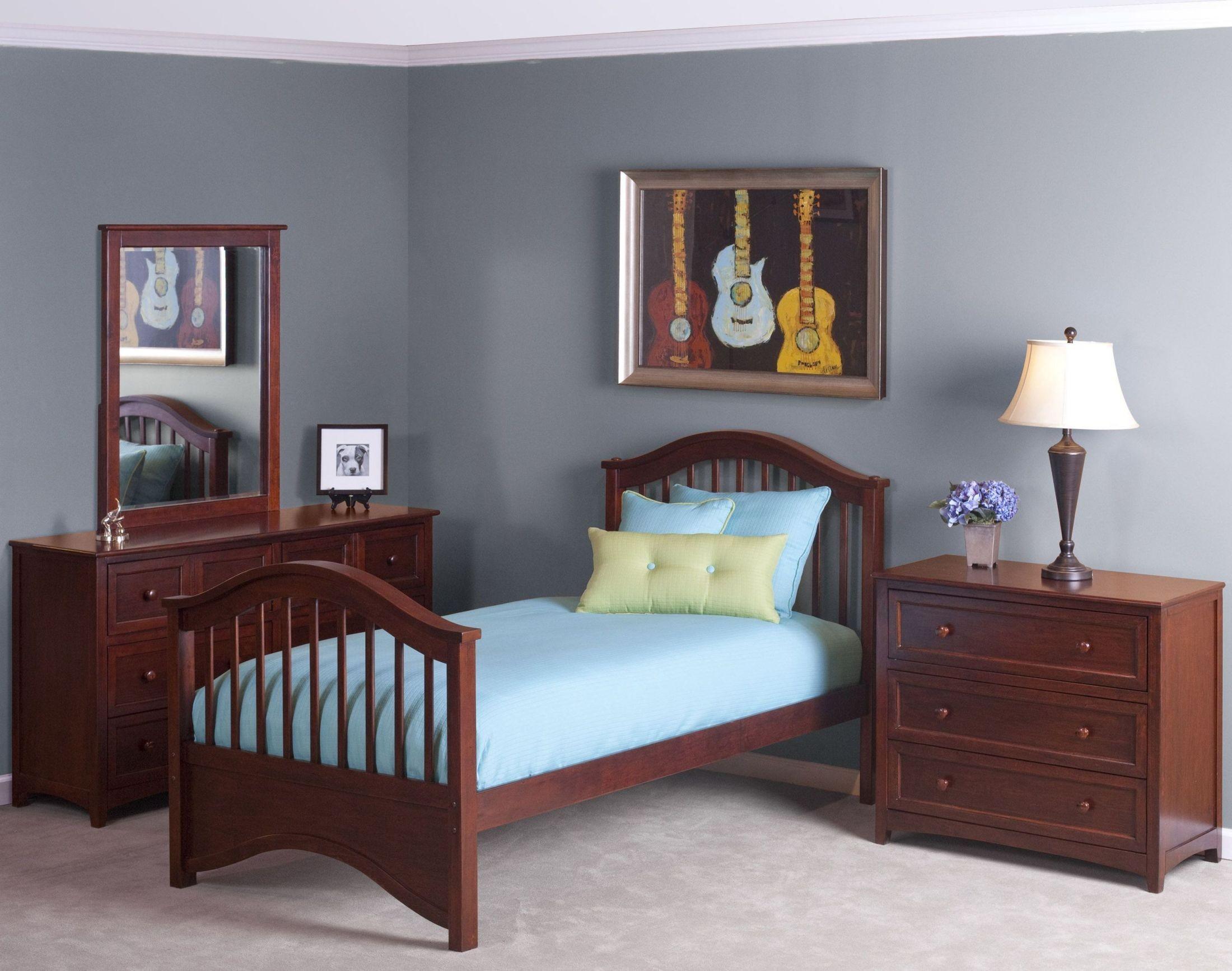 School house cherry jordan youth panel bedroom set from ne kids coleman furniture for Jordans furniture bedroom sets
