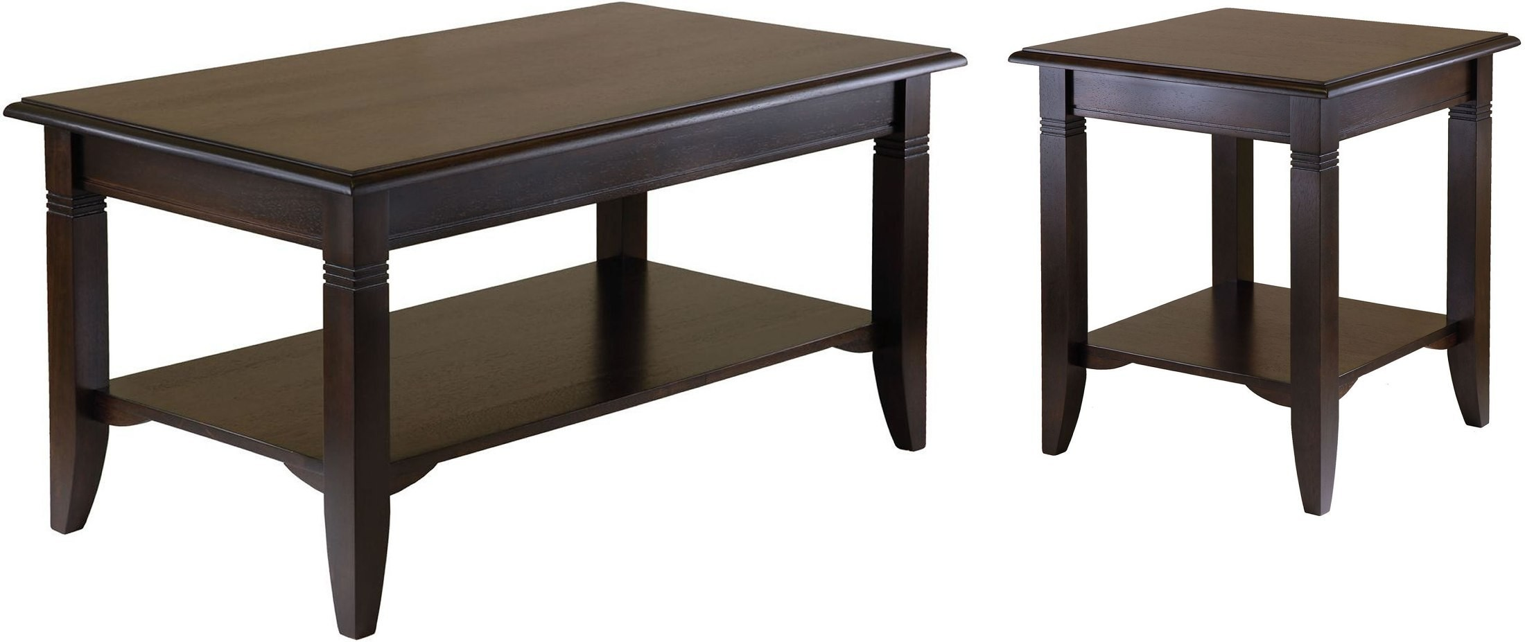 Nolan Cappuccino Occasional Table Set From Winsomewood Coleman Furniture