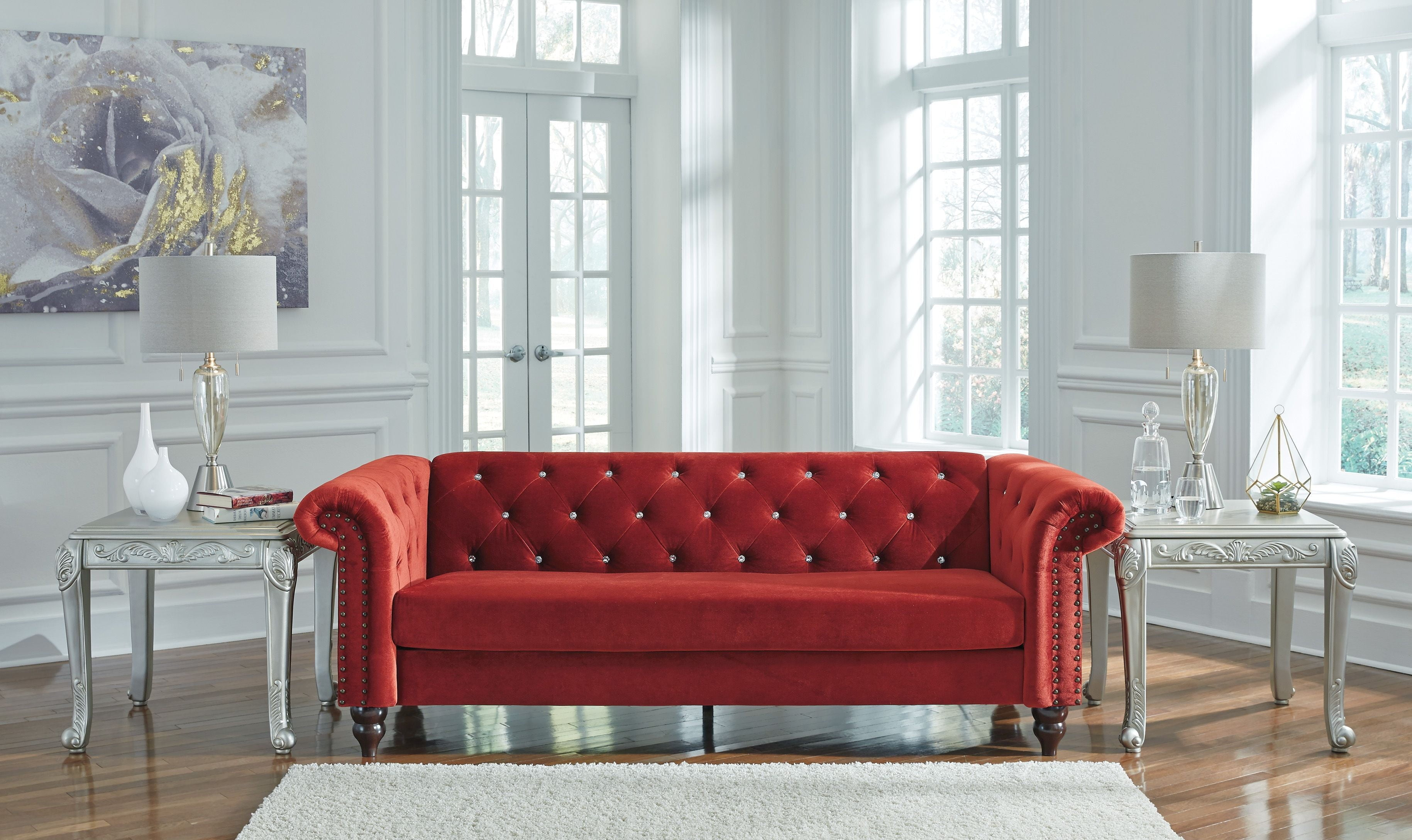 Malchin Red Living Room Set from Ashley   Coleman Furniture