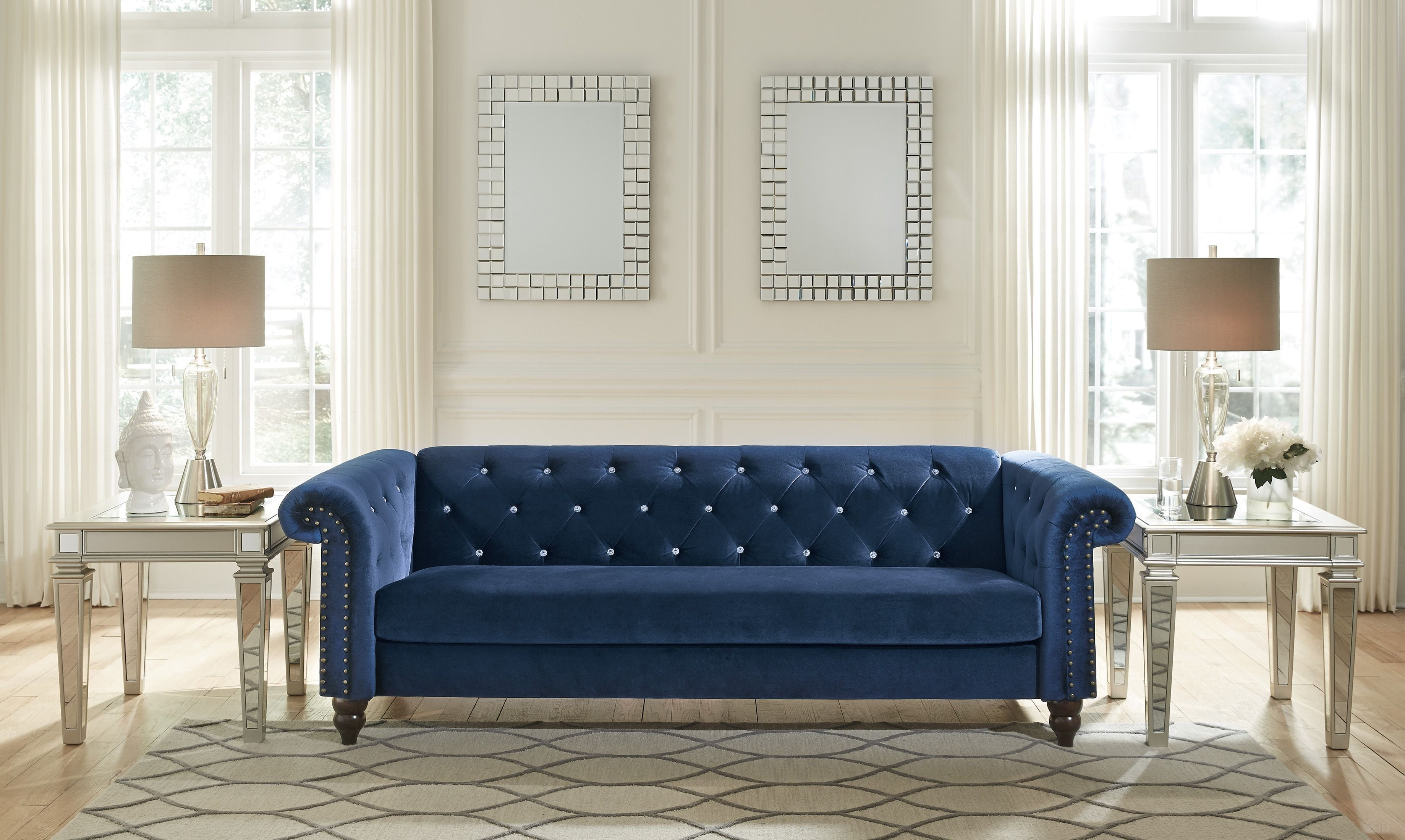 Malchin Blue Living Room Set from Ashley | Coleman Furniture