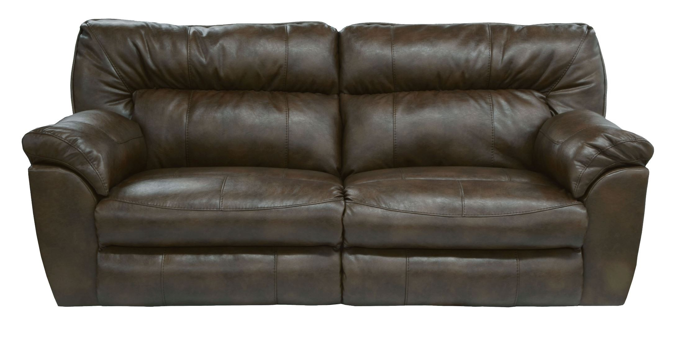 Nolan godiva power reclining sofa from catnapper for Catnapper cloud nine chaise recliner