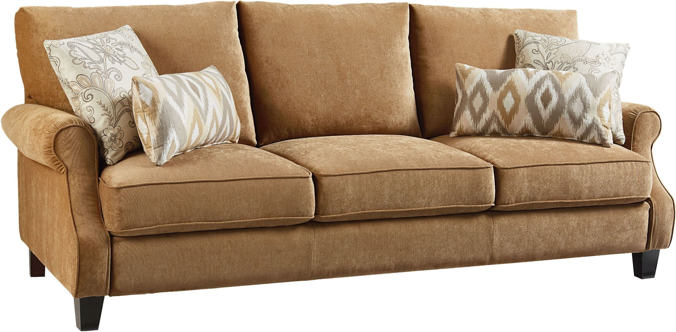 Waverly Antique Brown Sofa From Standard Furniture