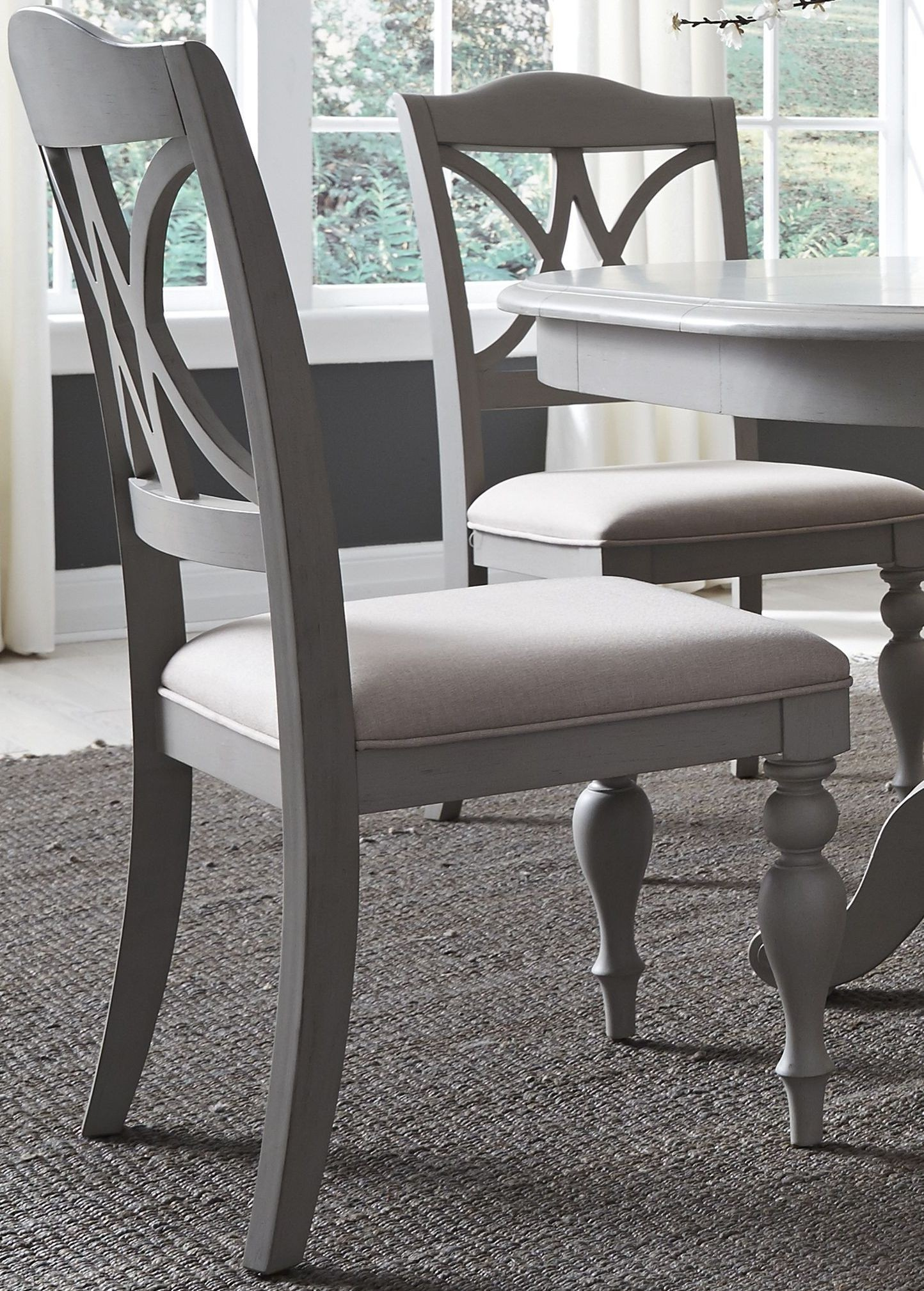 Summer House Dove Grey Round Dining Room Set from Liberty ...