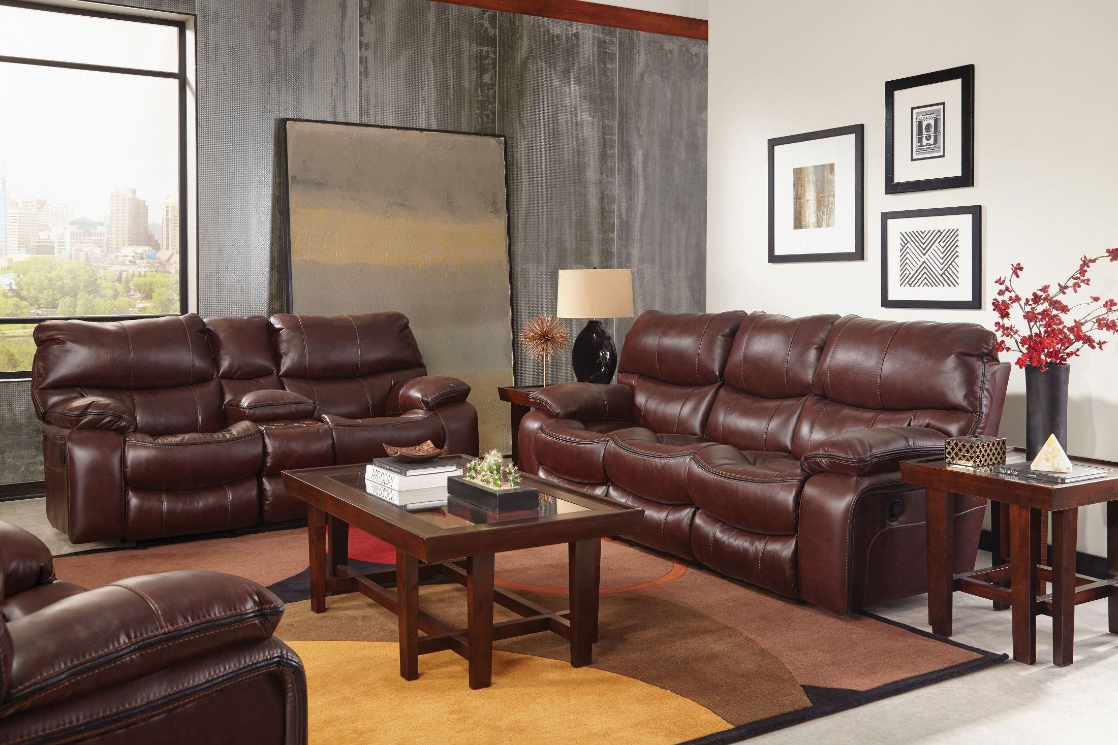 Camden Walnut Power Reclining Living Room Set From Catnapper Coleman Furniture