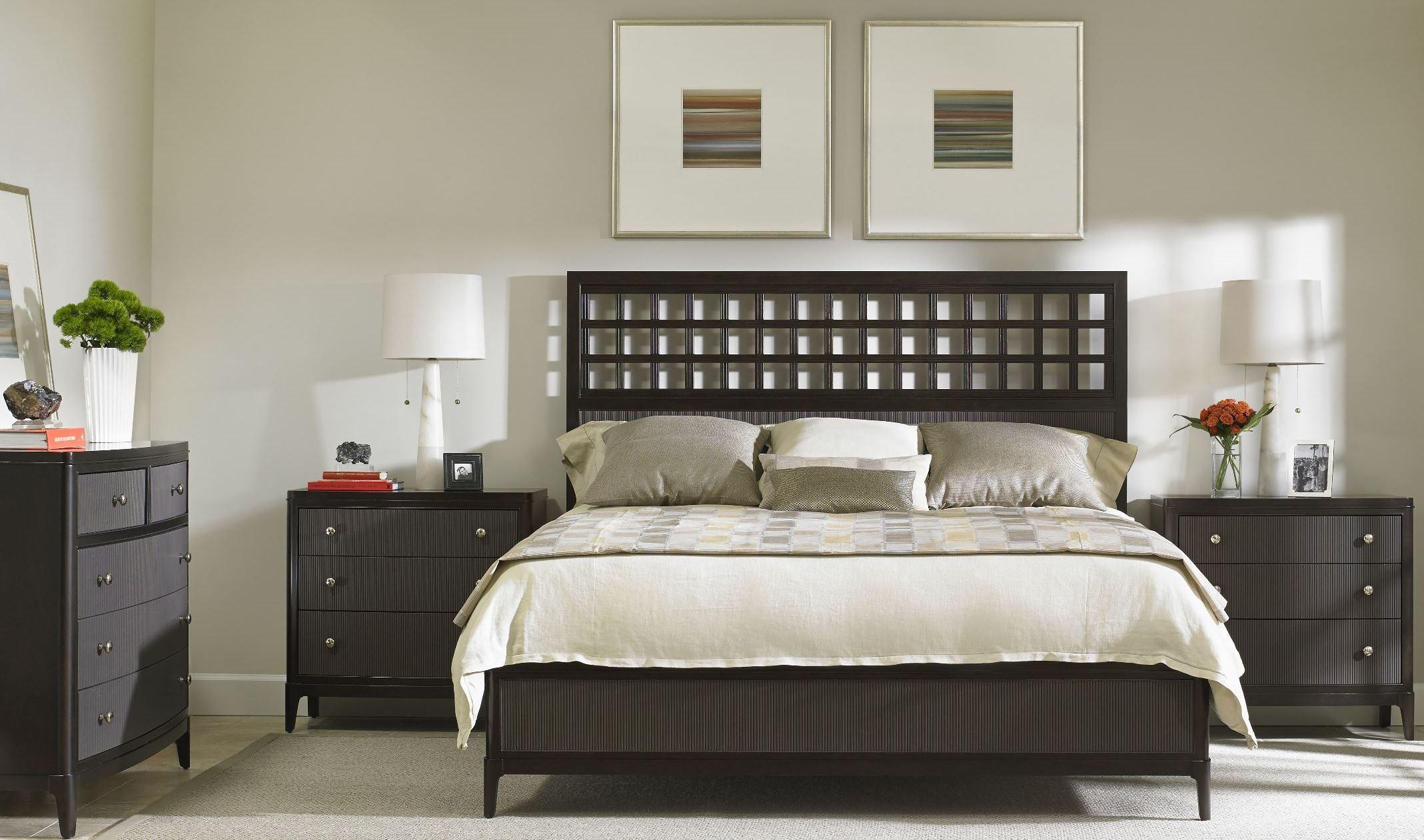 Wicker Park Wood Panel Bedroom Set From Stanley 409 13 40