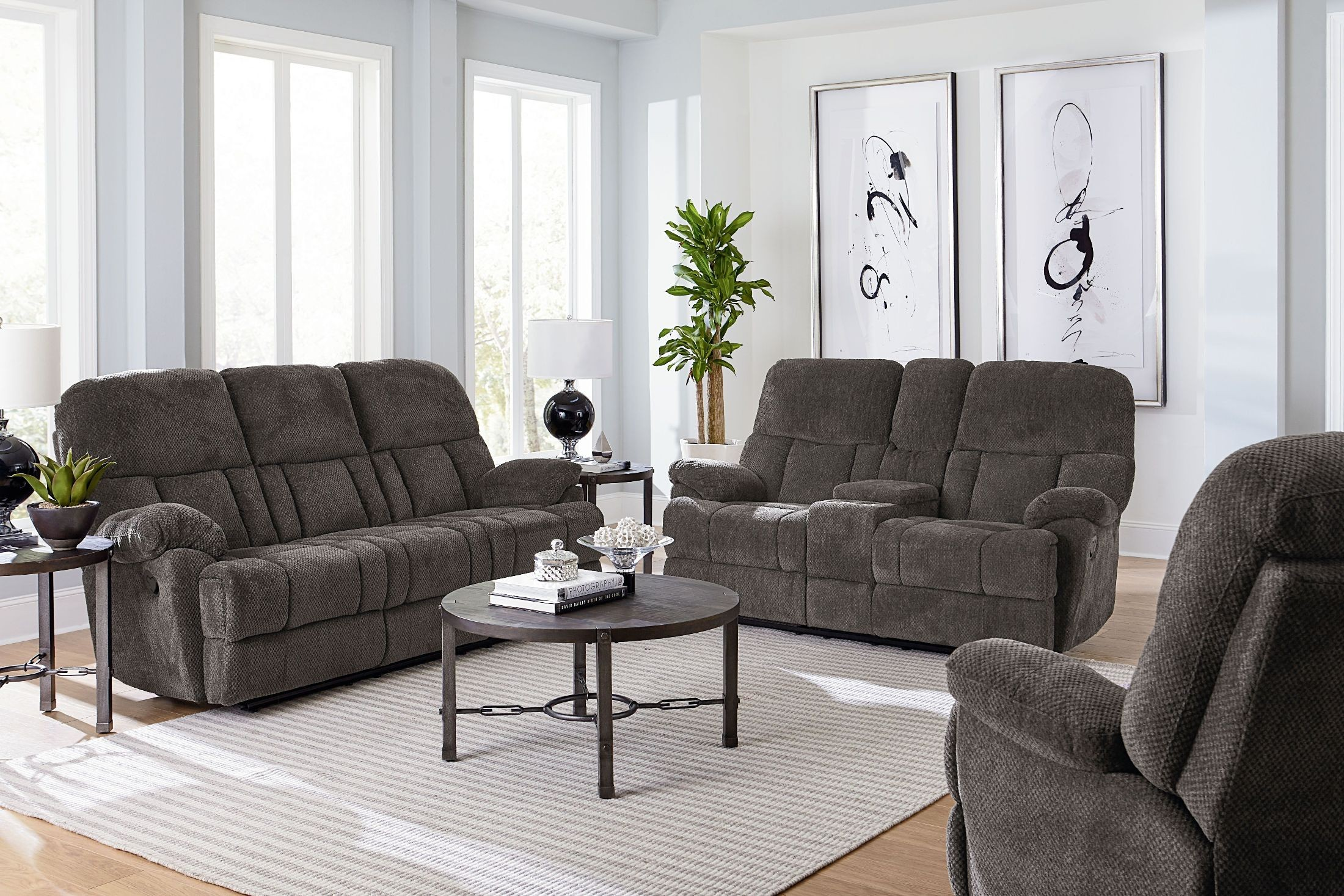 Harmon Ash Reclining Living Room Set