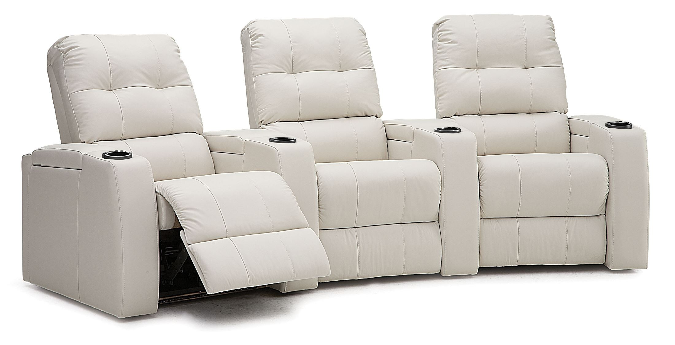Record Bonded Leather Home Theatre Seating Psr 41400