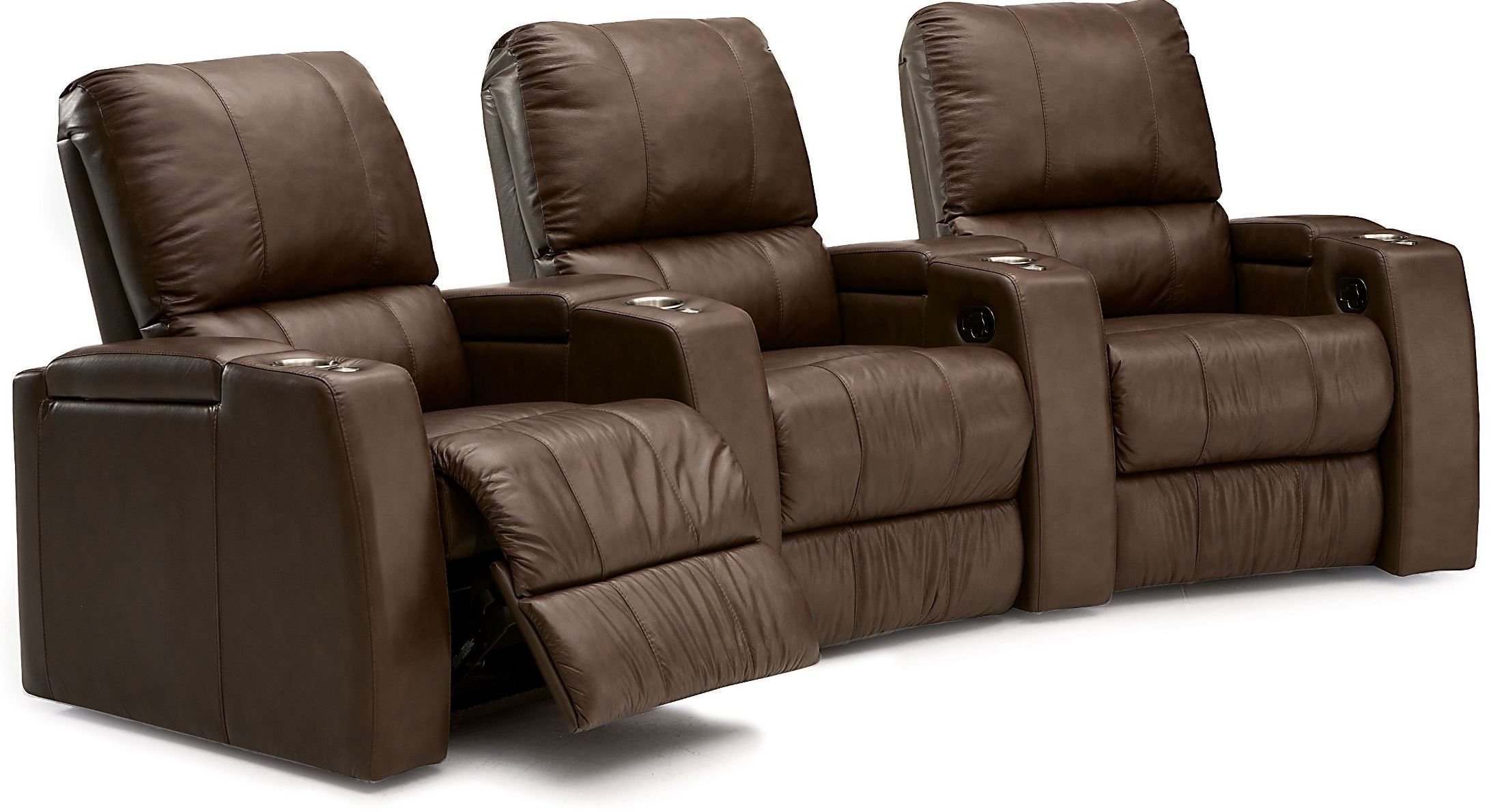Playback Leather Home Theatre Seating Psr 41403 Leather Palliser