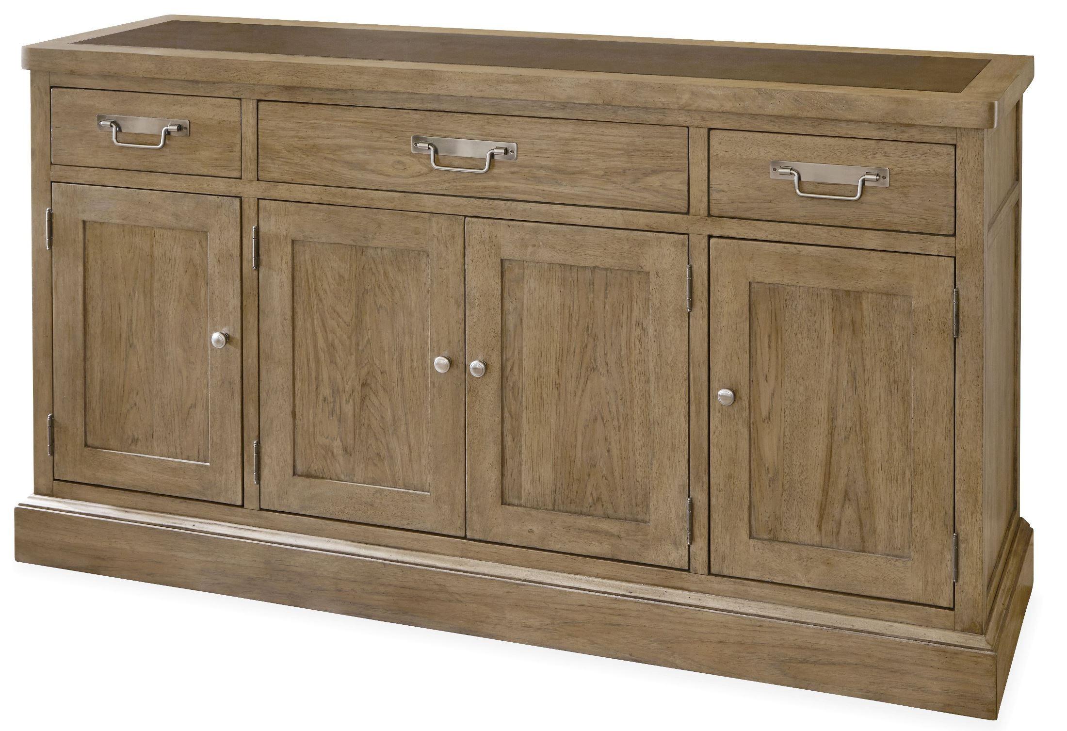 moderne muse bisque sideboard from universal 414679. Black Bedroom Furniture Sets. Home Design Ideas