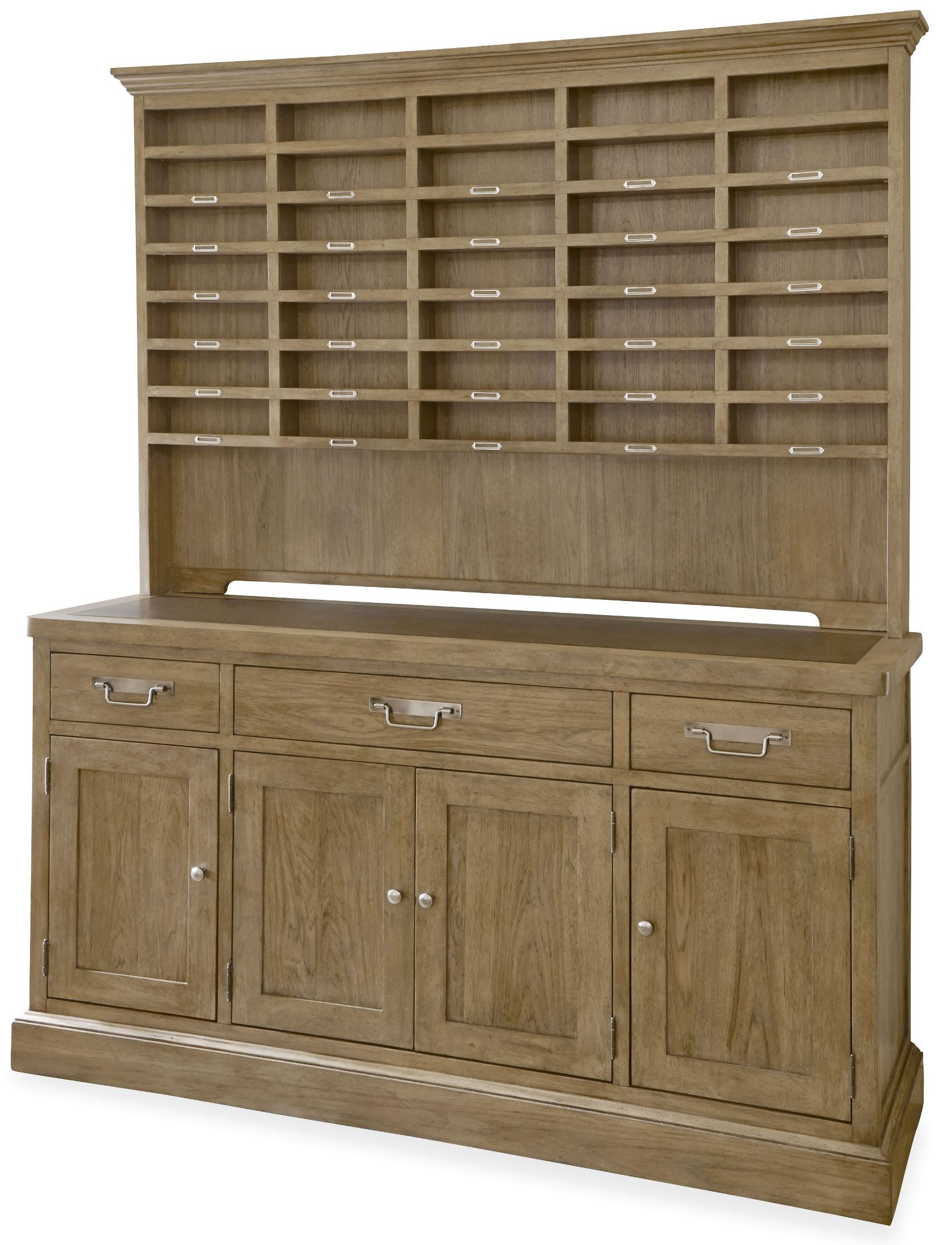 moderne muse bisque sideboard with hutch from universal. Black Bedroom Furniture Sets. Home Design Ideas