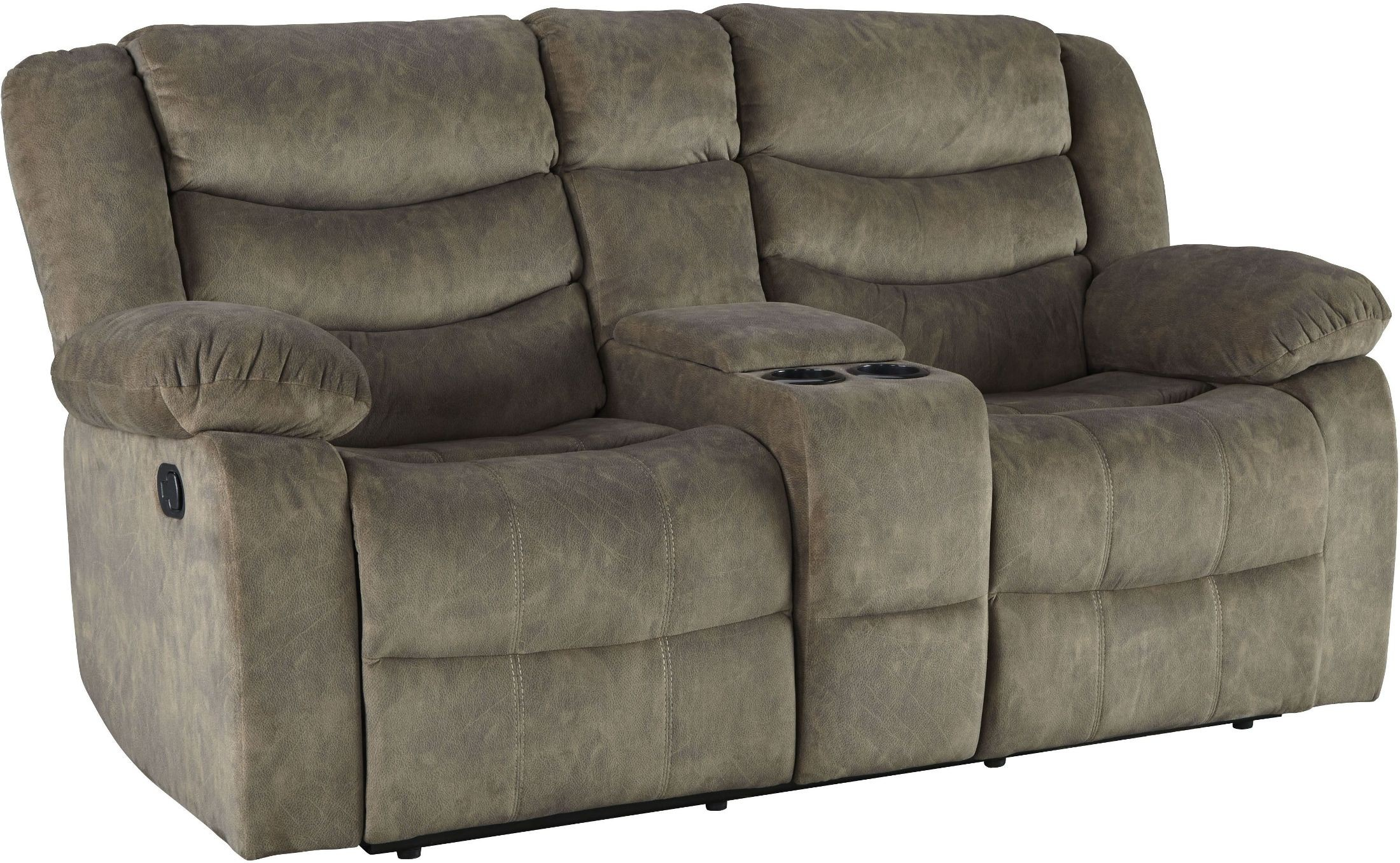 tan reclining console item number elijah loveseat with home morris furnishings products