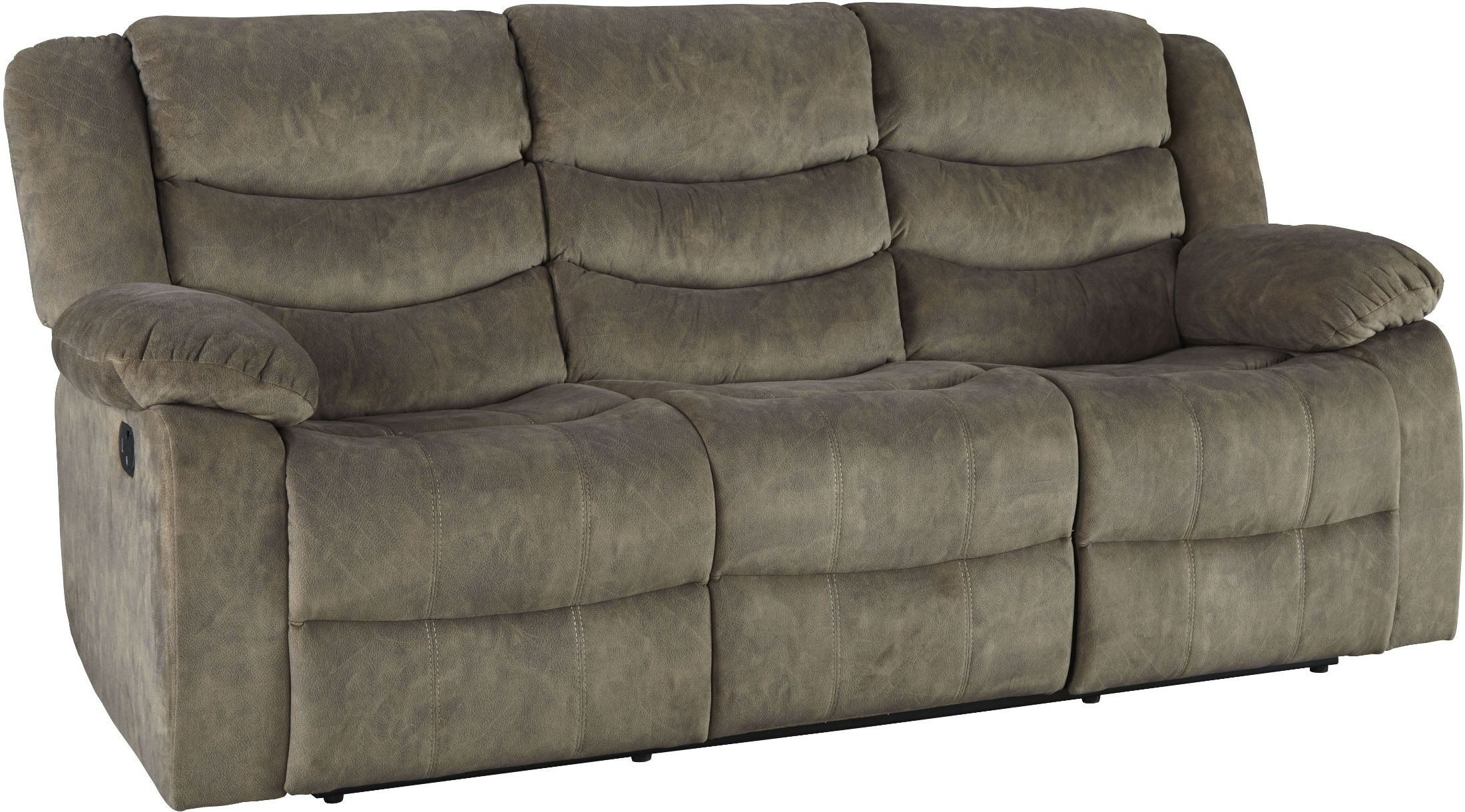 Ridgecrest Tan Reclining Sofa
