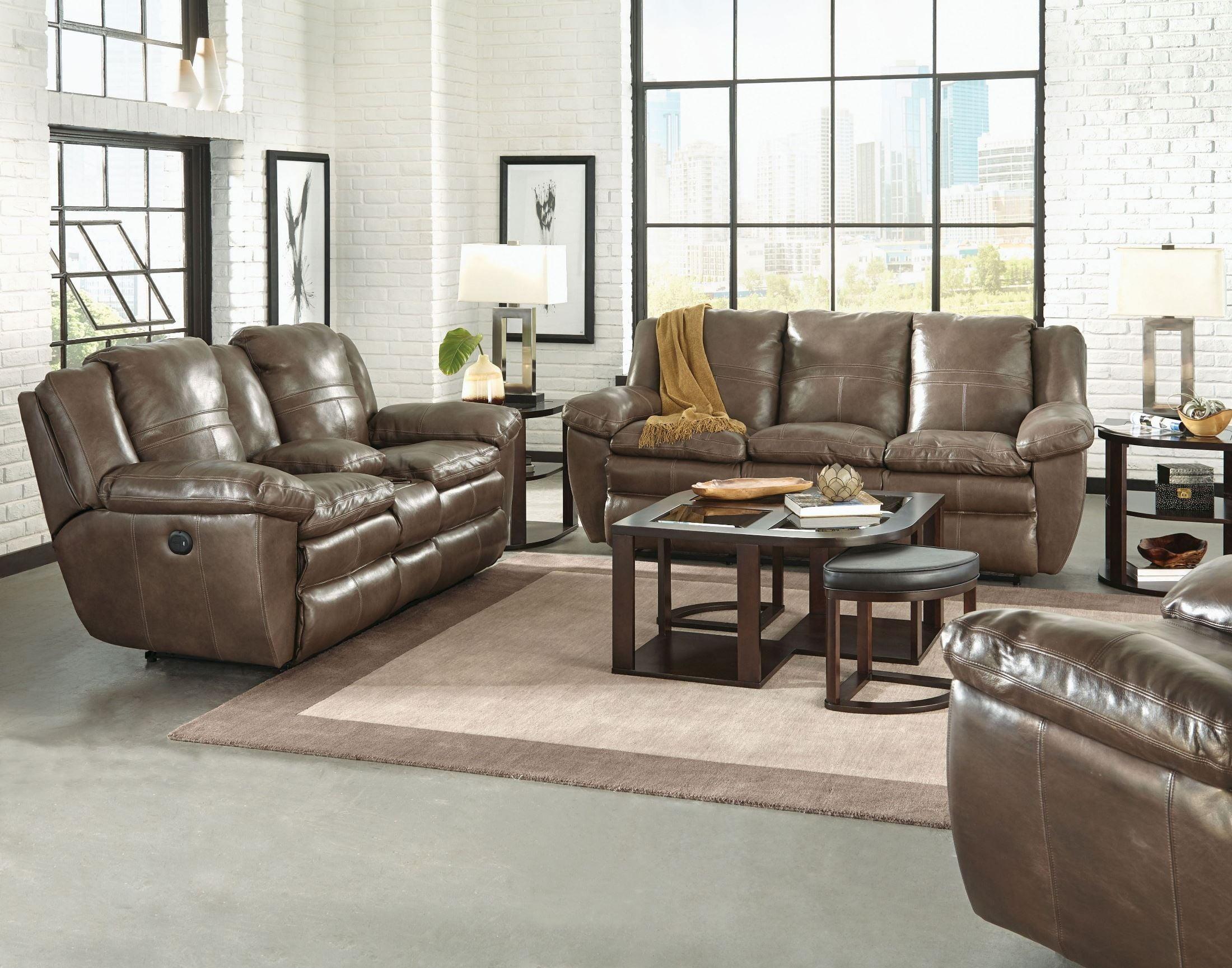Aria Smoke Power Lay Flat Reclining Sofa 64191 1283 18 3083 18  ~ Lay Flat Reclining Sofa