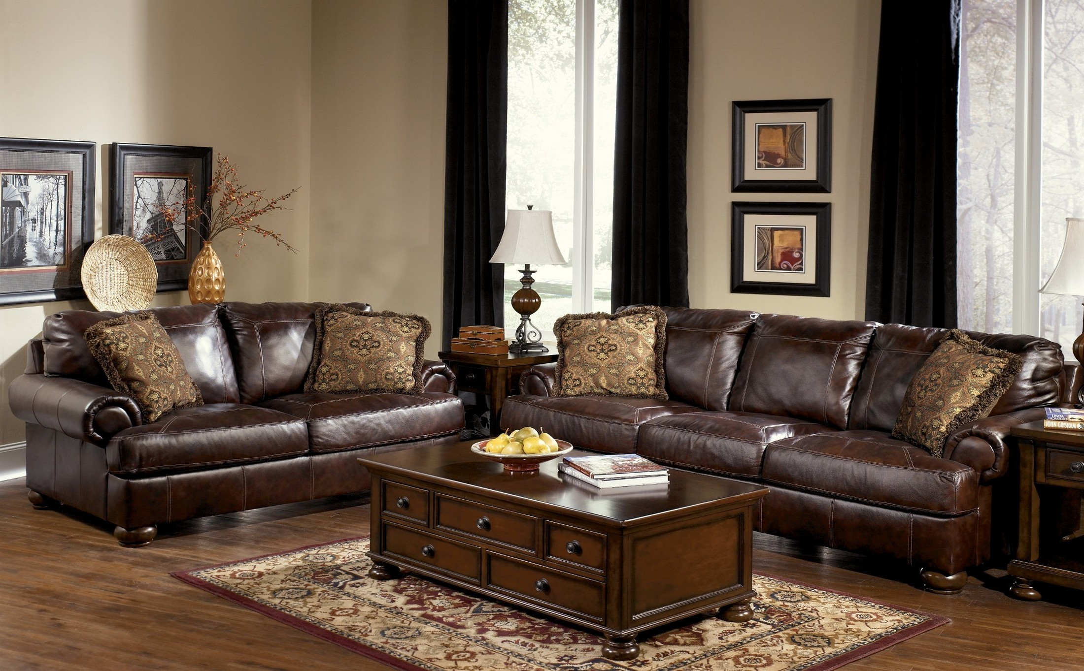 Axiom Walnut Living Room Set From Millennium By Ashley · 2295635 · 1930406 Part 9