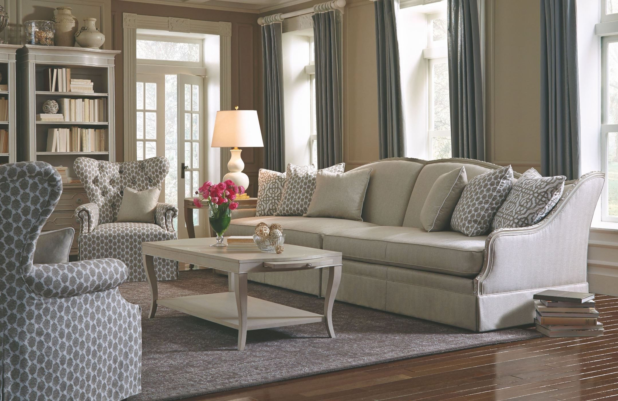 Ava grey living room set from art 513521 5011aa for Grey living room sets
