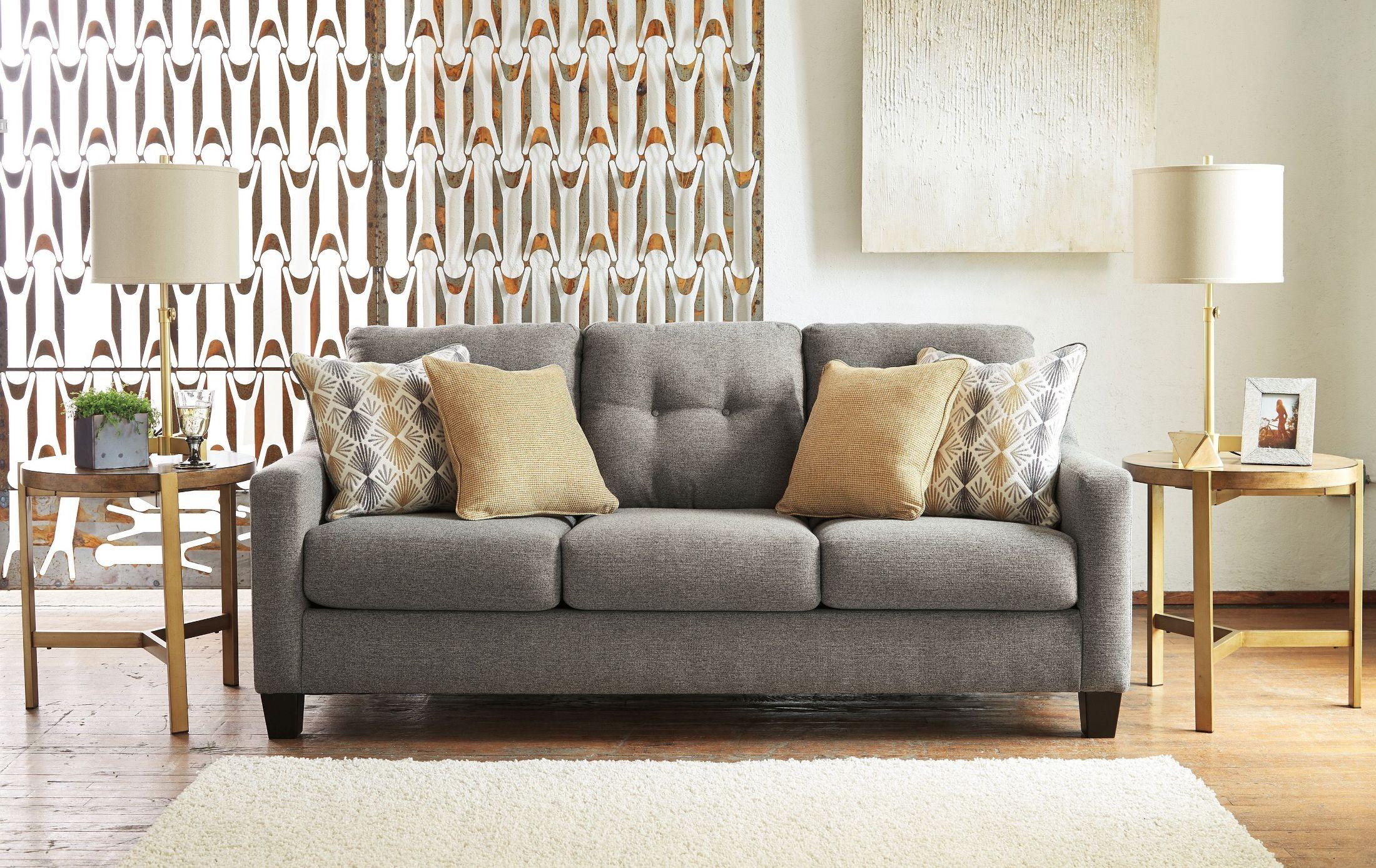 Lovely Graphite Sofa #16 - Daylon Graphite Sofa