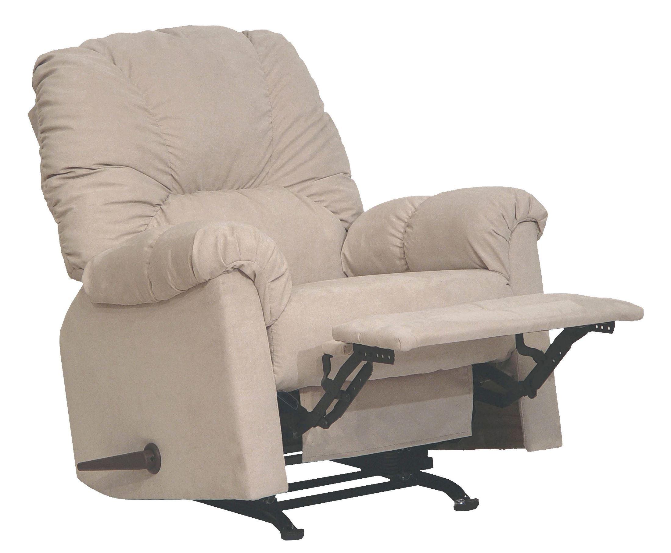 Winner linen rocker recliner from catnapper 42342211236 for Catnapper cloud nine chaise recliner