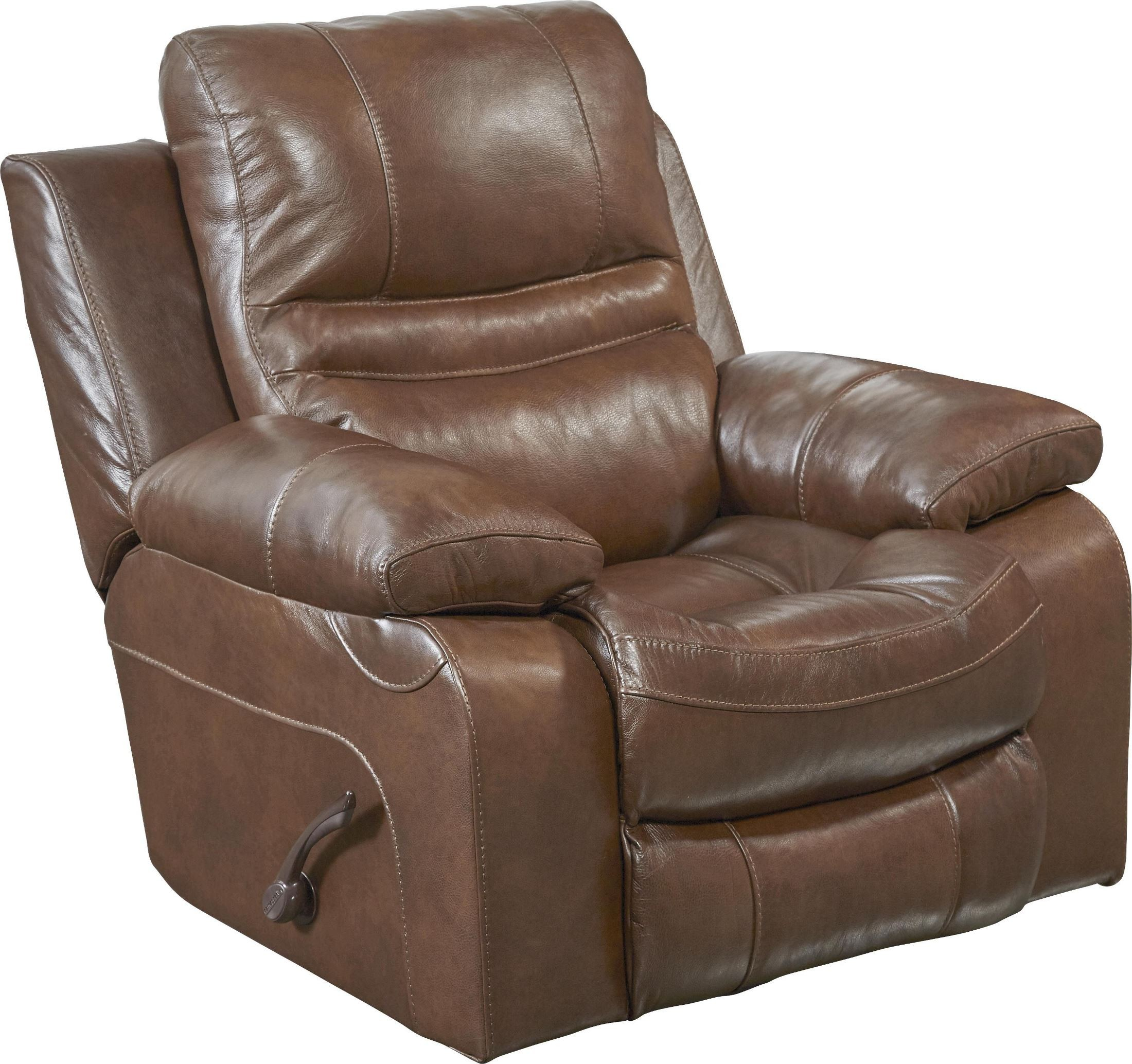 Patton chesnut power lay flat recliner from catnapper for Catnapper cloud nine chaise recliner