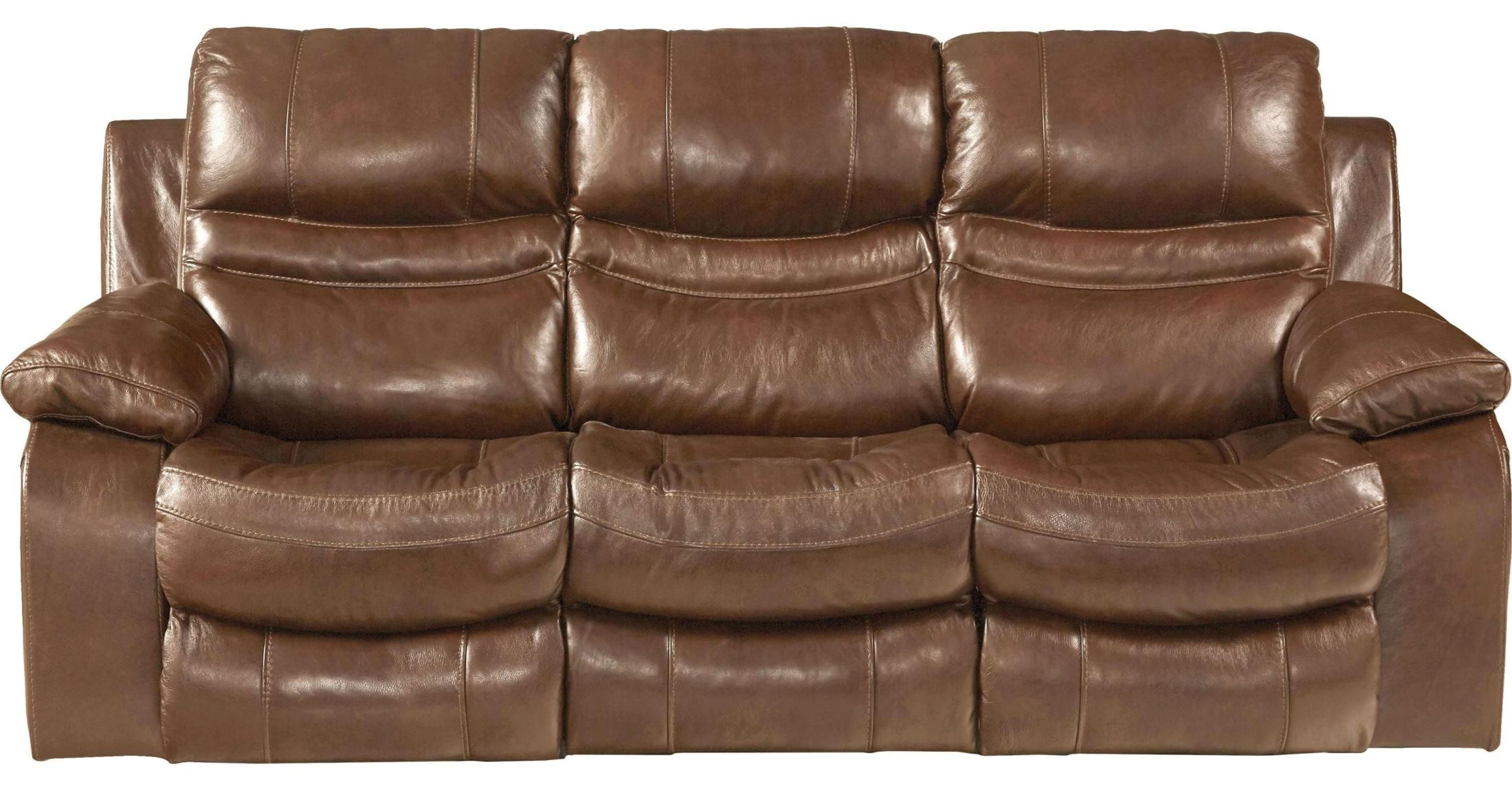 Patton Chesnut Power Lay Flat Reclining Sofa From Catnapper Coleman Furniture