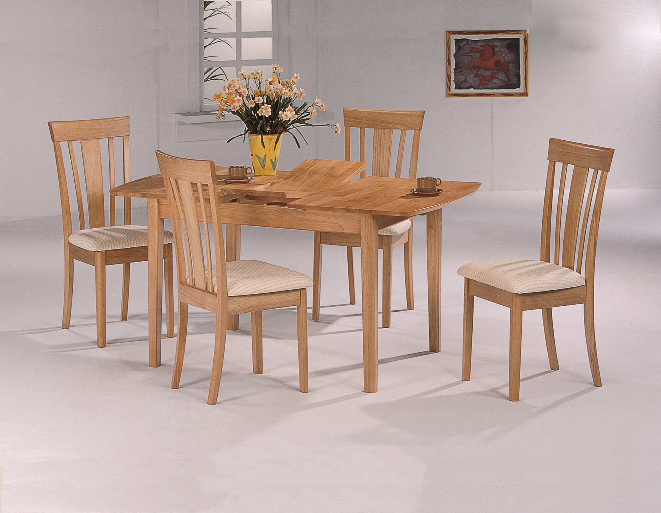 4267 Maple Butterfly Leaf Dining Extendable Room Set 938442 493812 493811