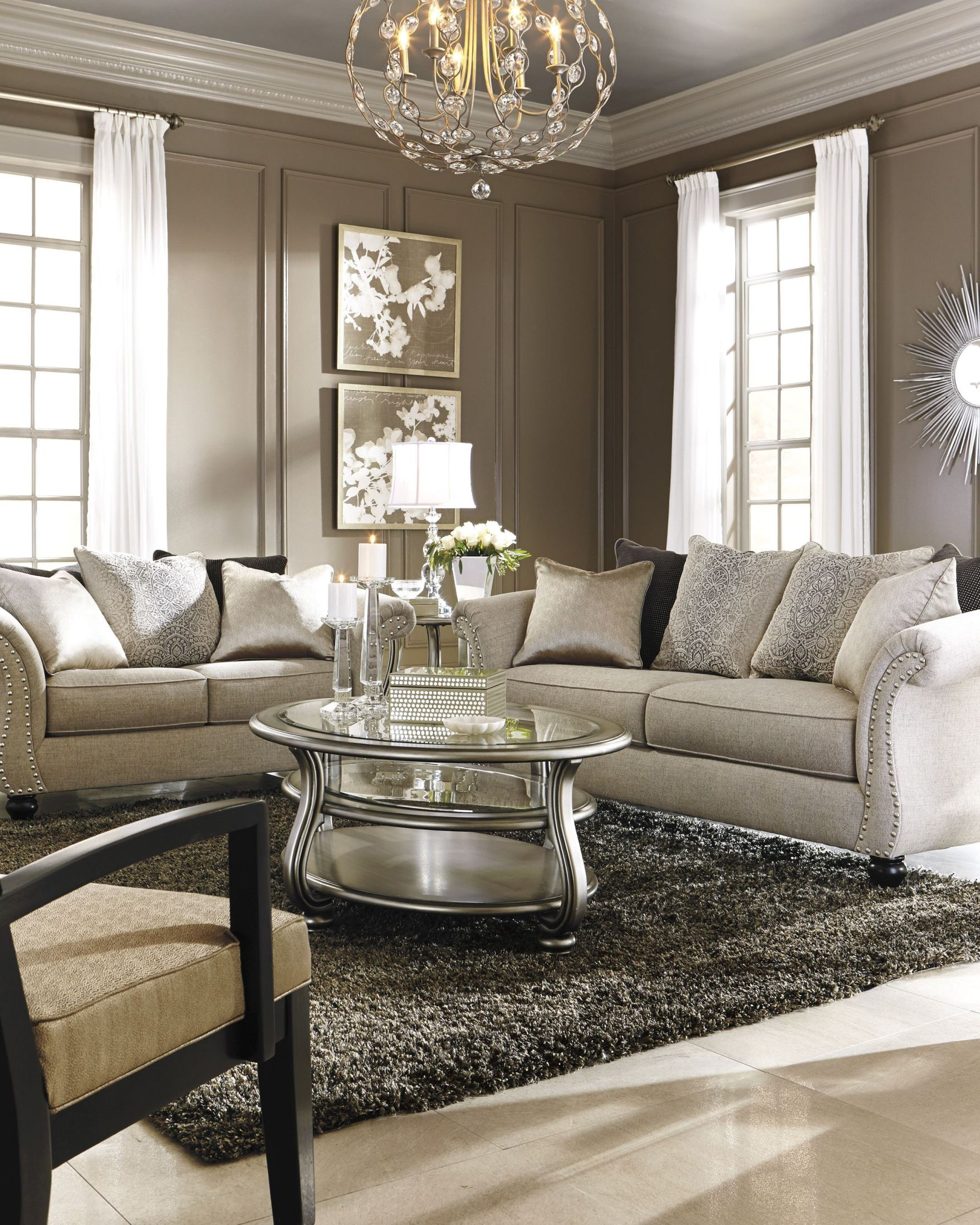 Lemoore Fog Accent Chair From Ashley 4270060 Coleman