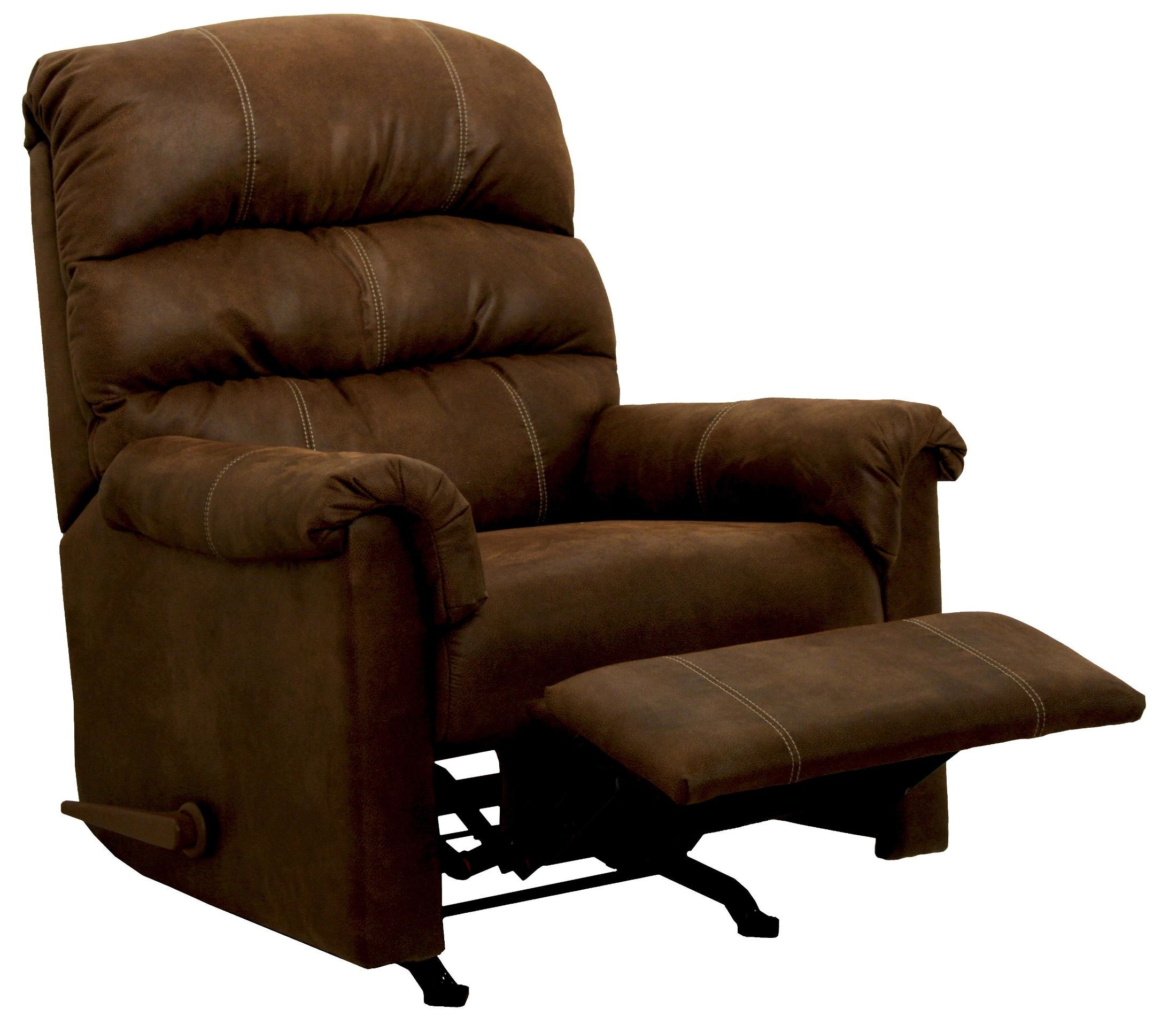 Capri chocolate rocker recliner from catnapper for Catnapper cloud nine chaise recliner