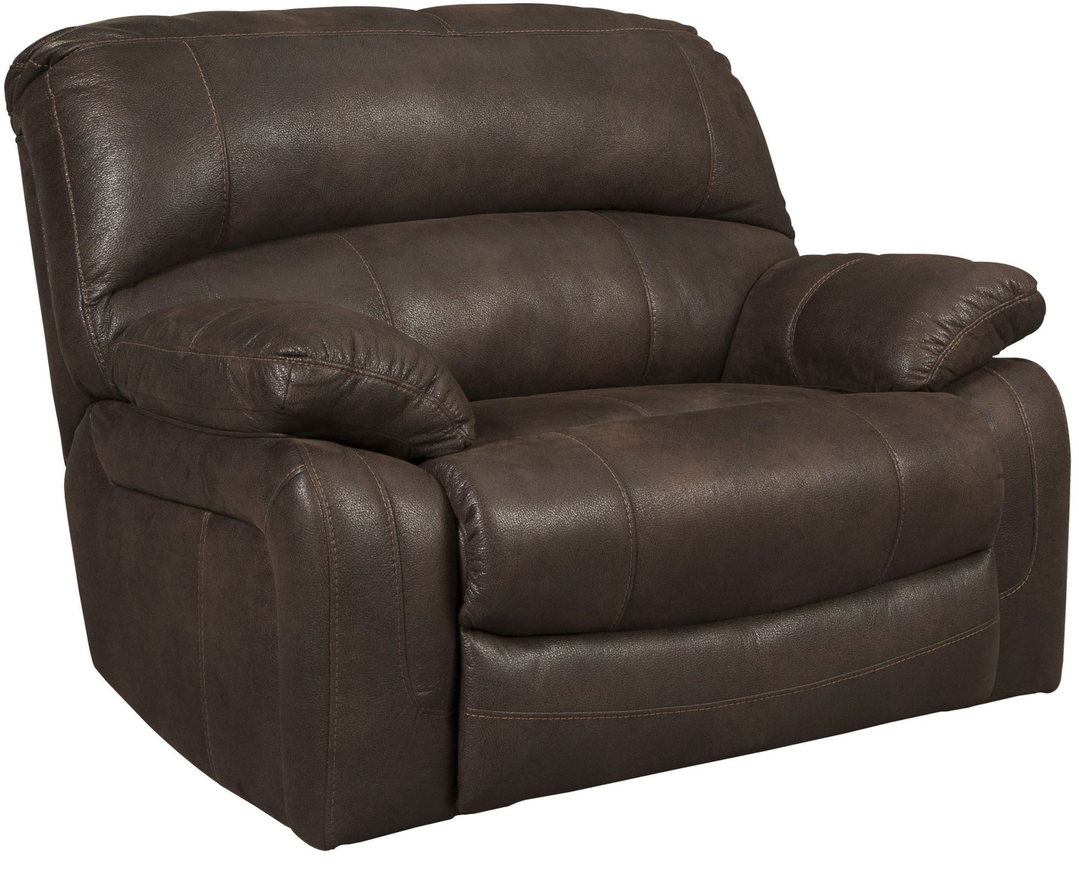 zavier truffle wide seat power recliner from ashley. Black Bedroom Furniture Sets. Home Design Ideas