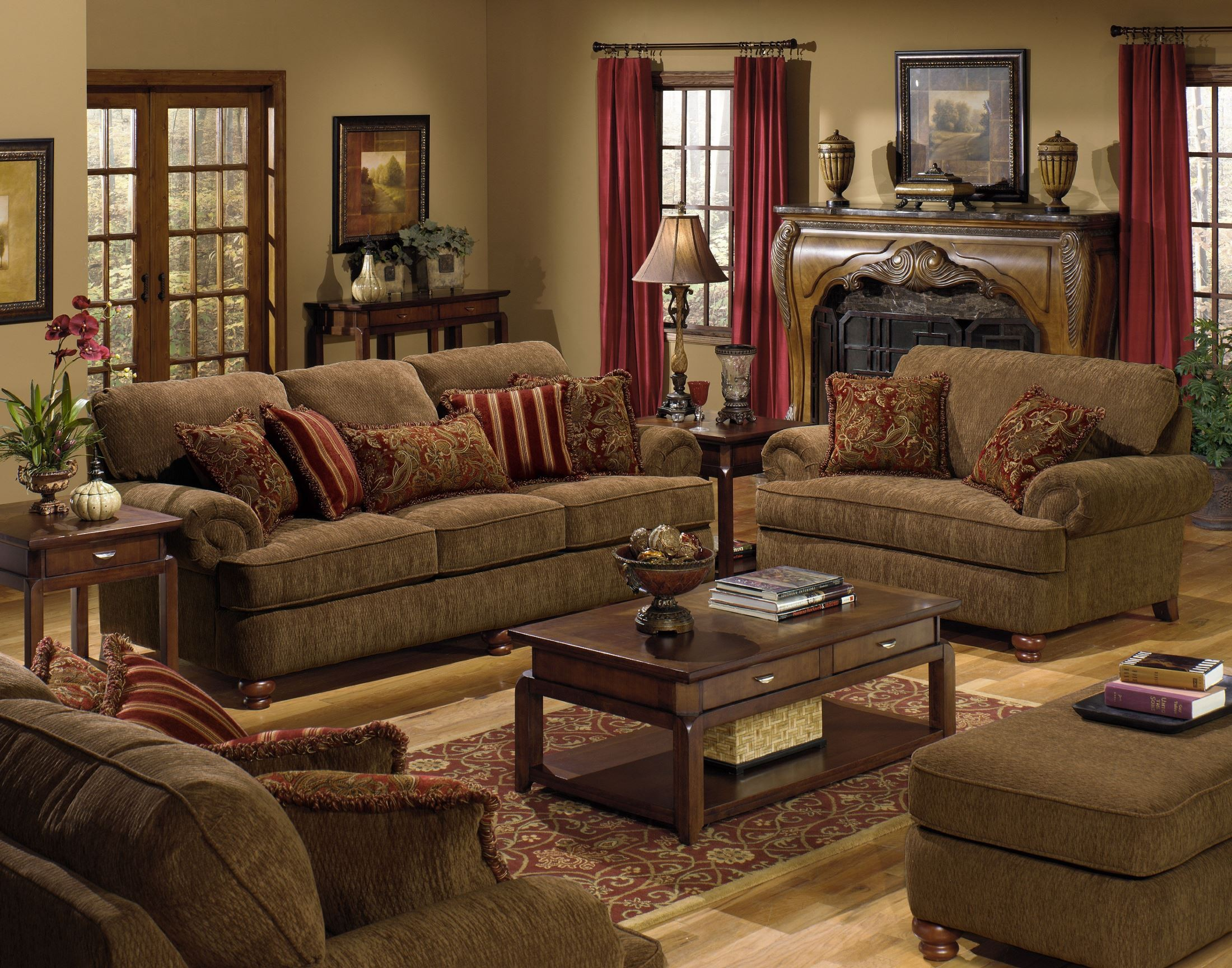 Belmont Umber Living Room Set From Jackson