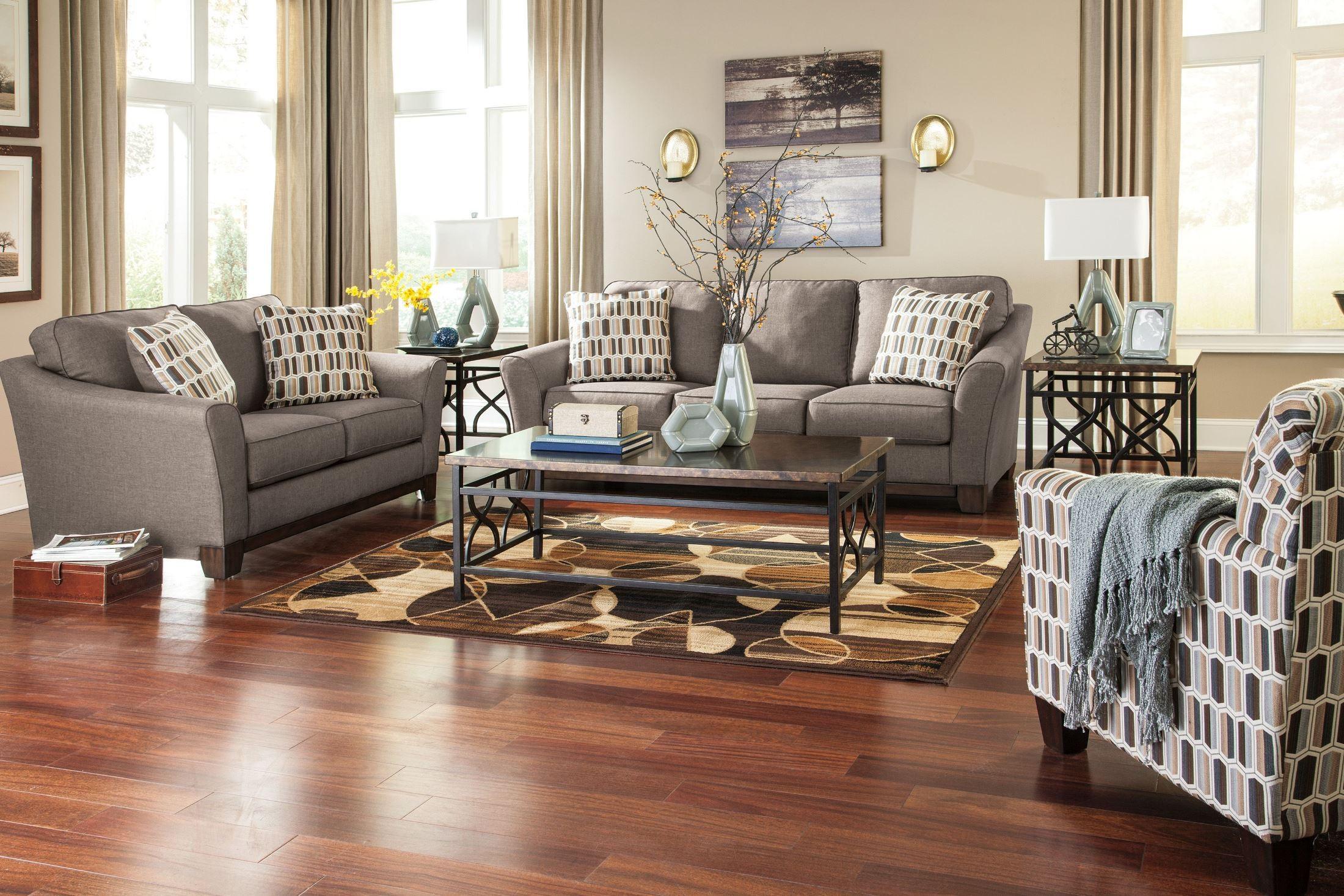 Janley Slate Living Room Set from Ashley 38 35