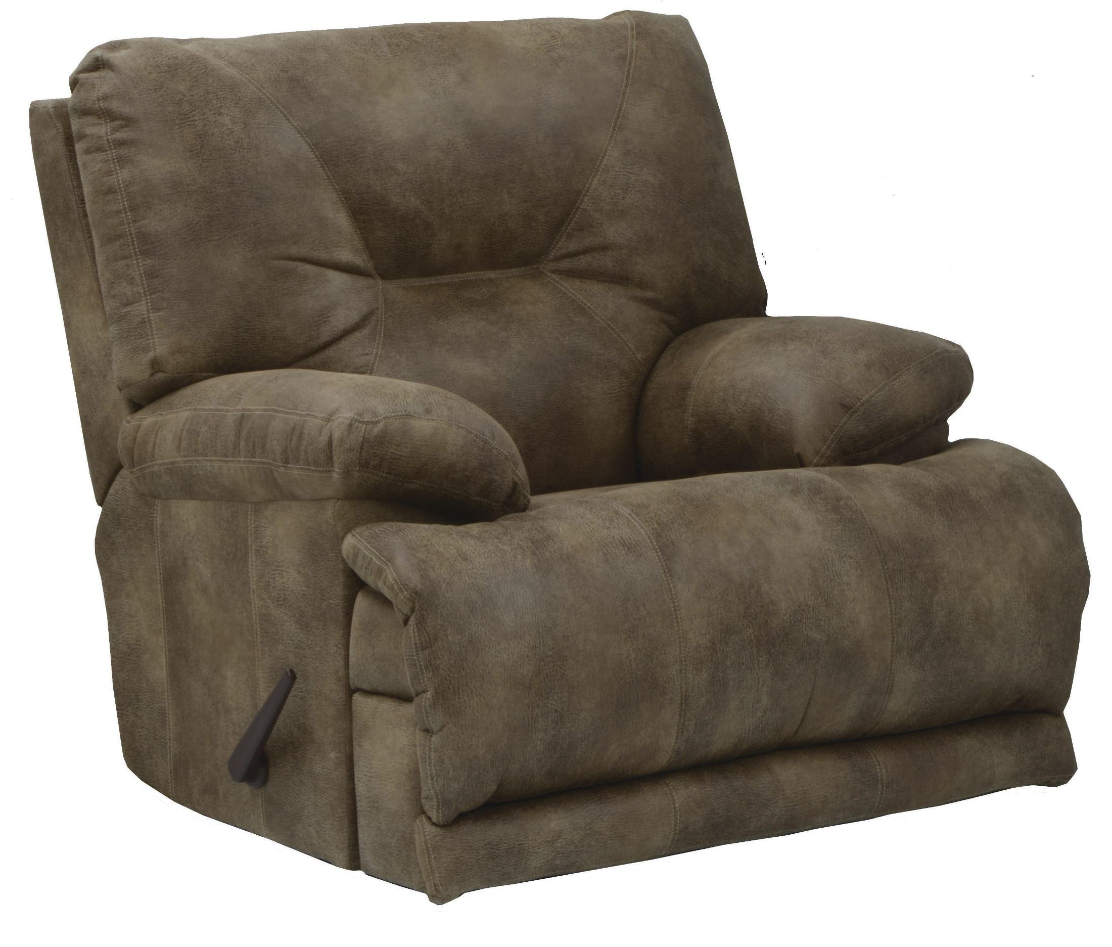 Voyager brandy recliner from catnapper 43807100000000000 for Catnapper cloud nine chaise recliner