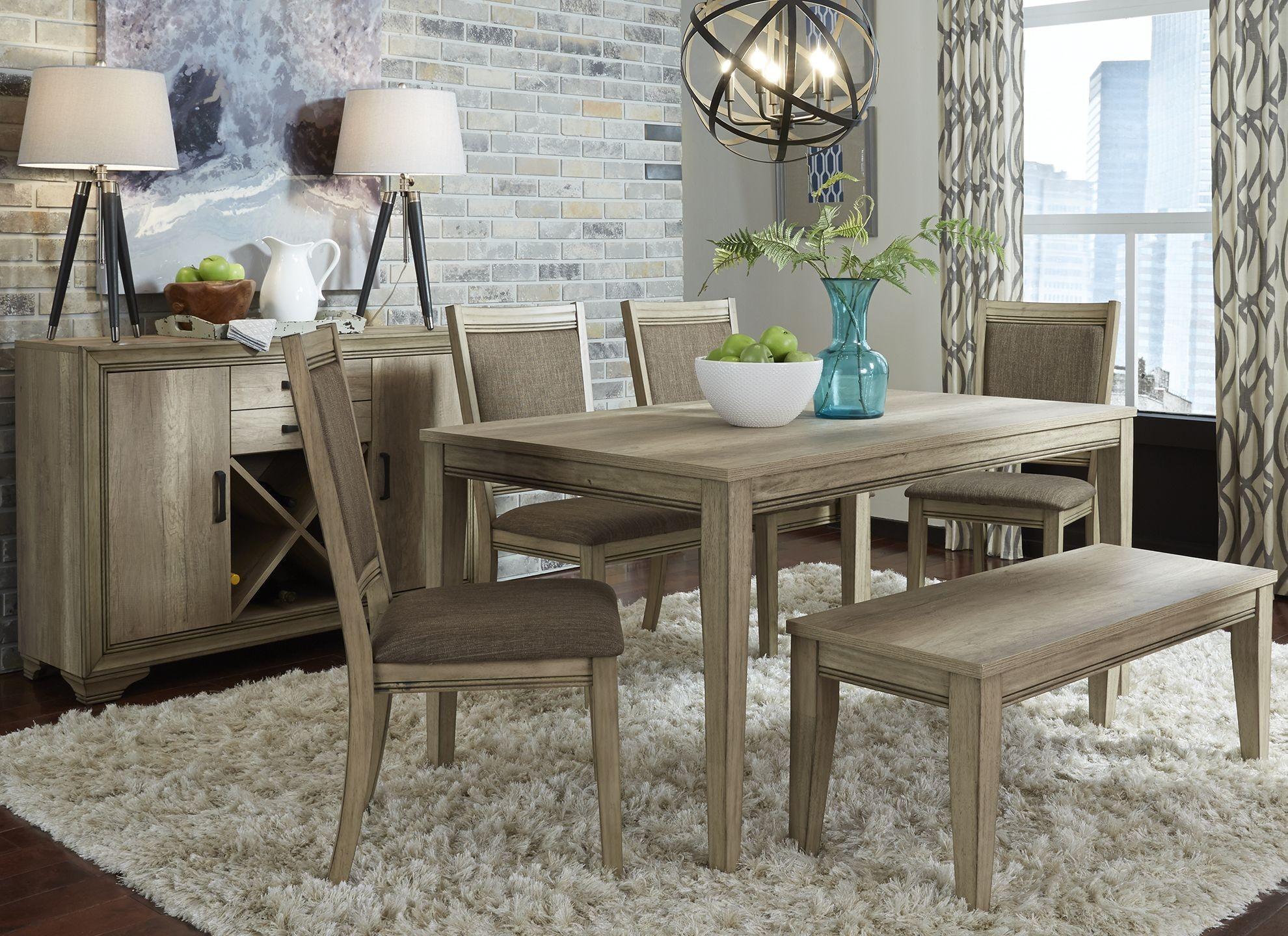 Sun Valley Rectangular Leg Dining Room Set