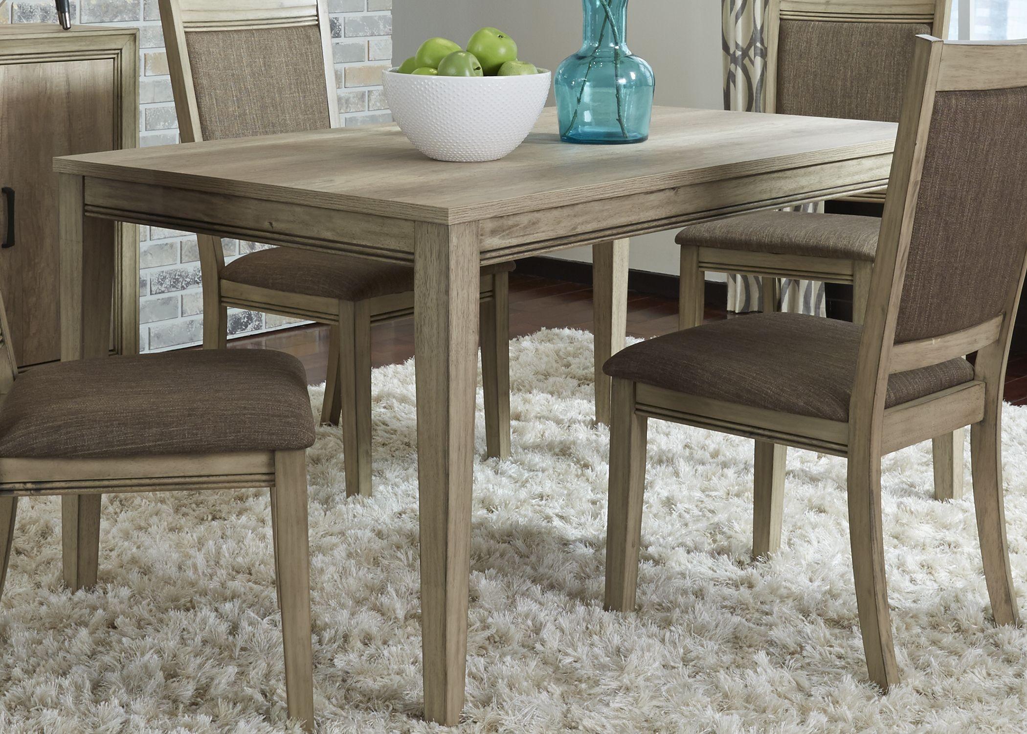 Sun Valley Rectangular Leg Dining Table