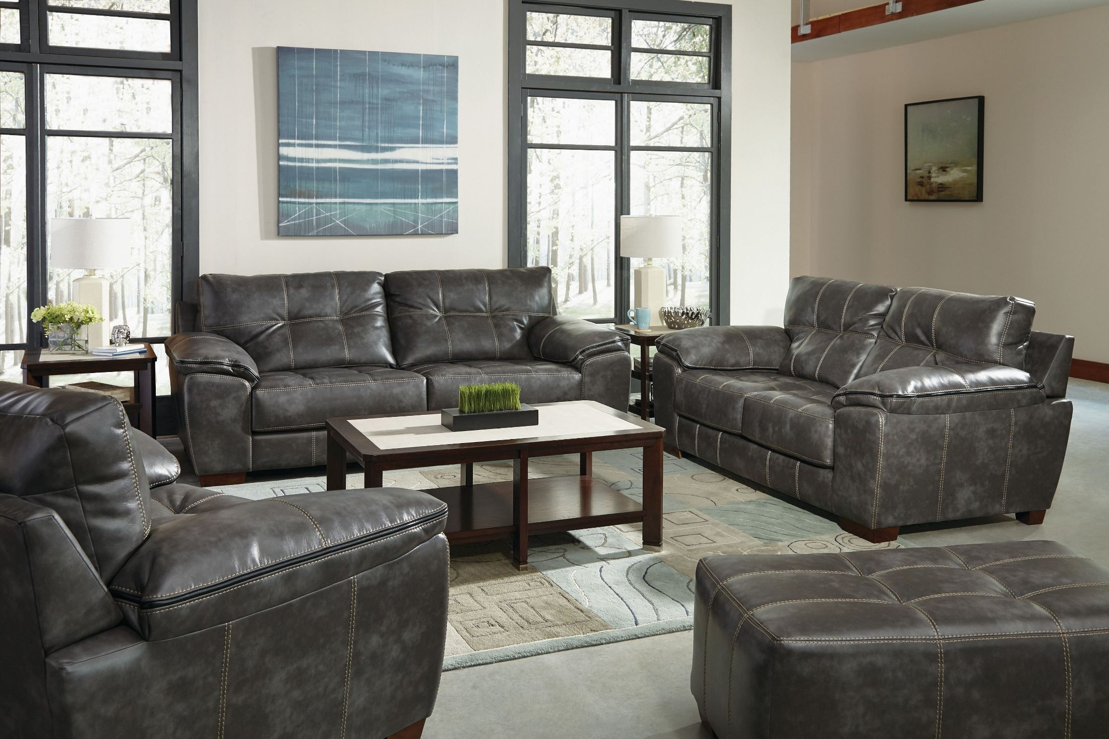 Hudson steel living room set · 2392442