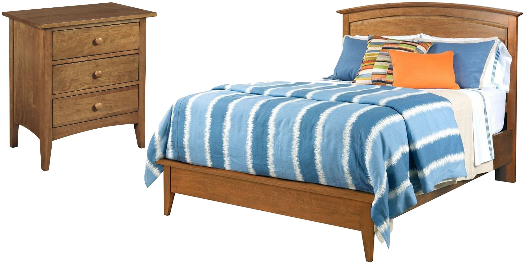 Gatherings Honey Arch Bedroom Set From Kincaid (44 2110P)   Coleman  Furniture