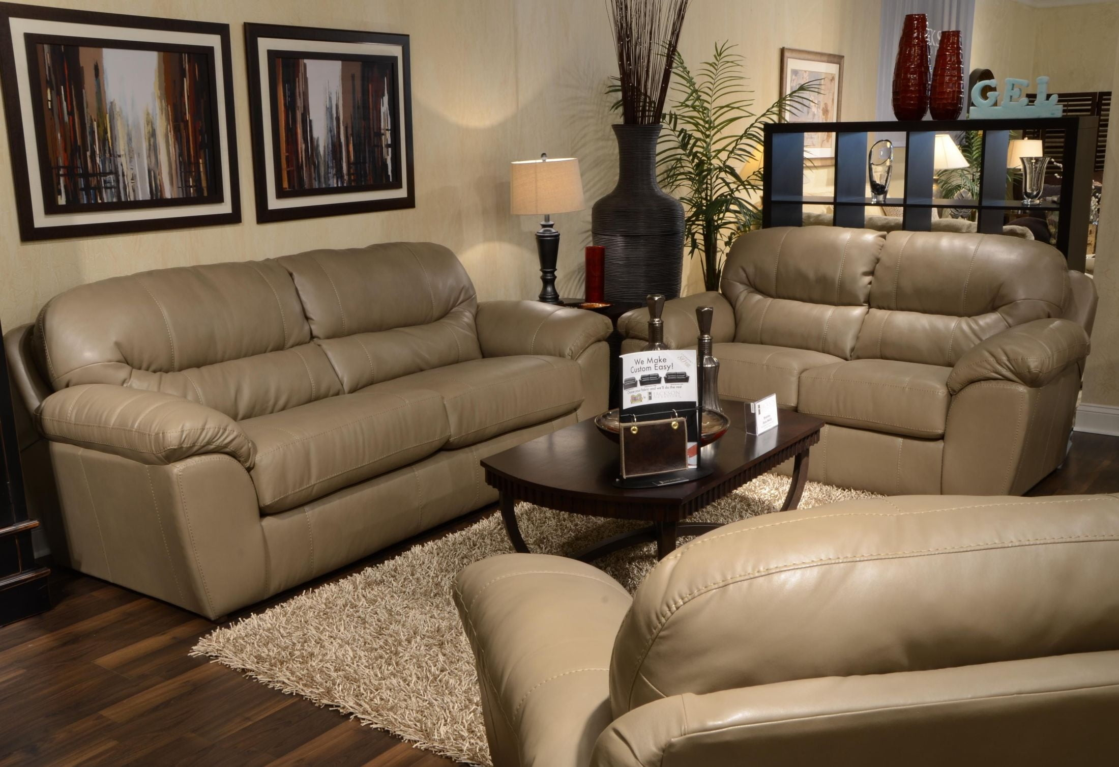 Brantley Putty Living Room Set From Jackson