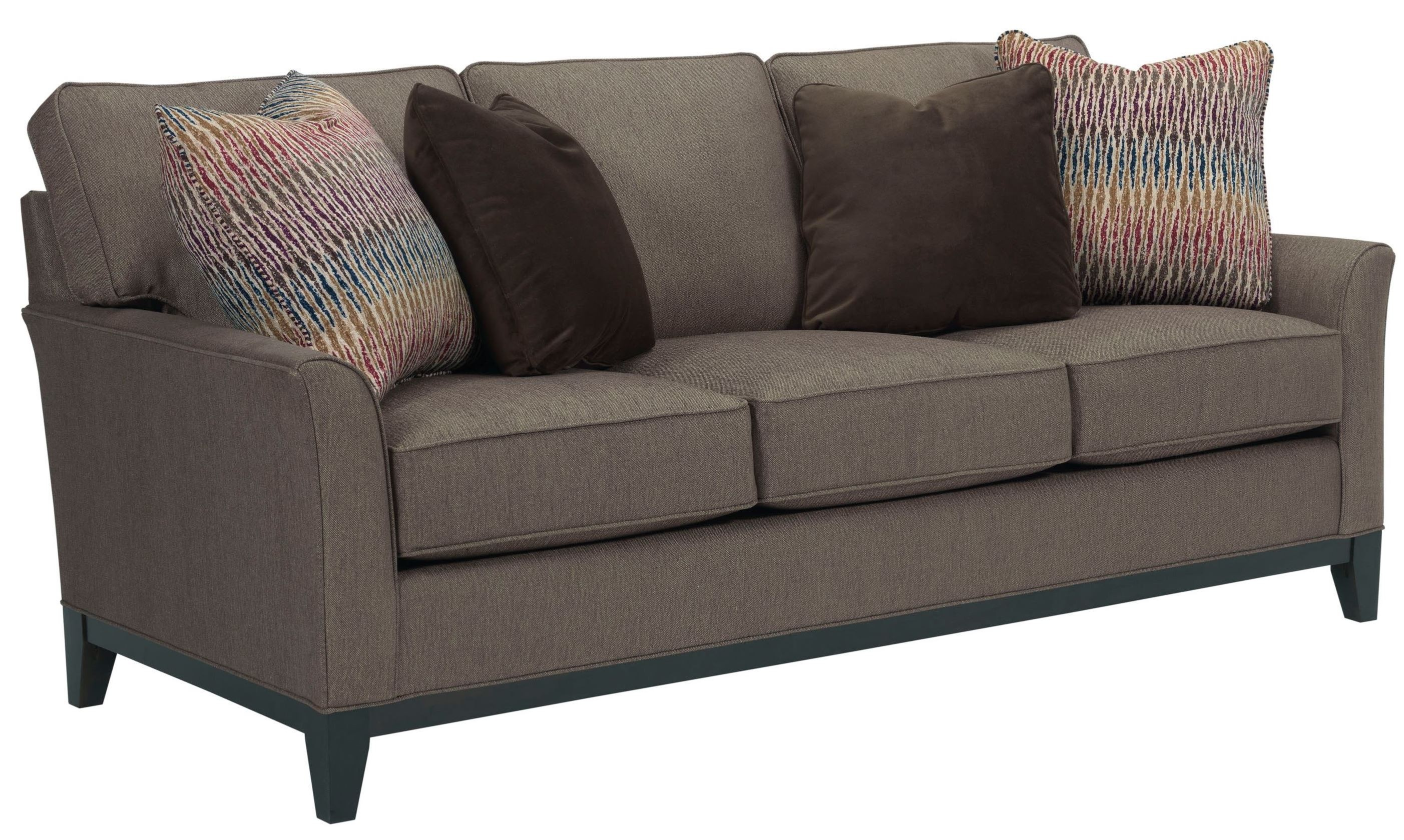 Sofa Cognac perspectives cognac chenille fabric sofa from broyhill coleman furniture
