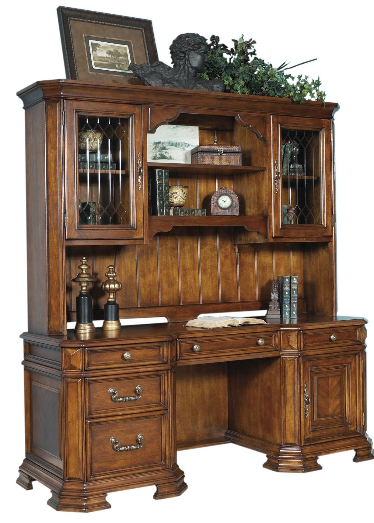 Madison Computer Desk With Hutch From Samuel Lawrence