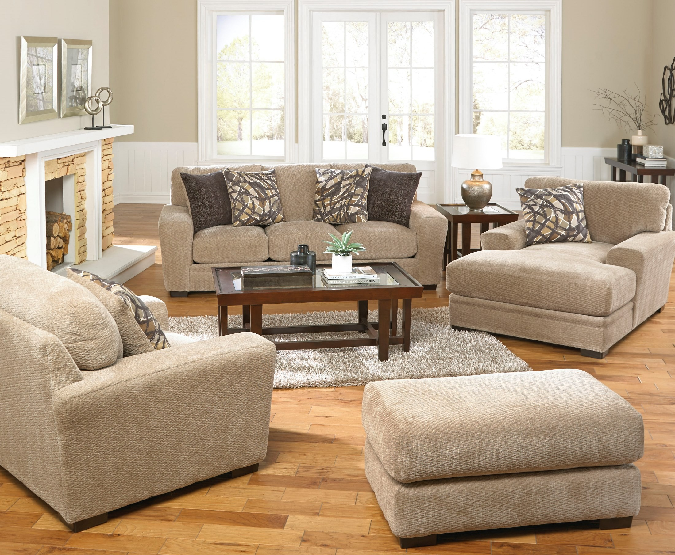 Prescott Putty And Marble Living Room Set From Jackson Coleman Furniture