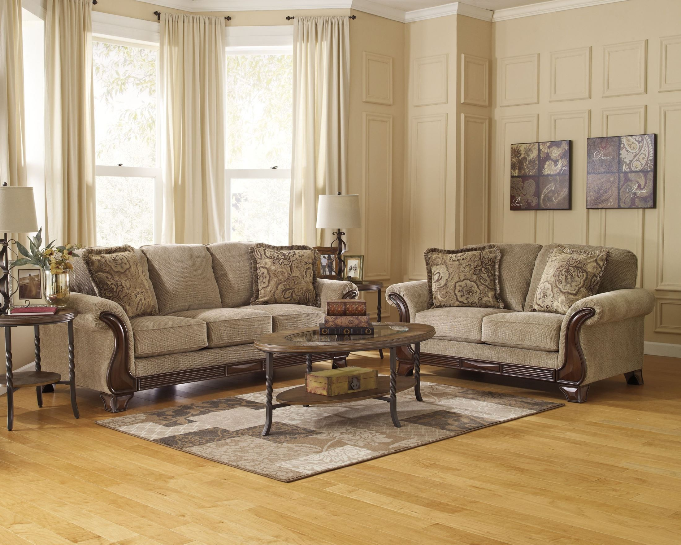 All Modern Sofa And Loveseat Set