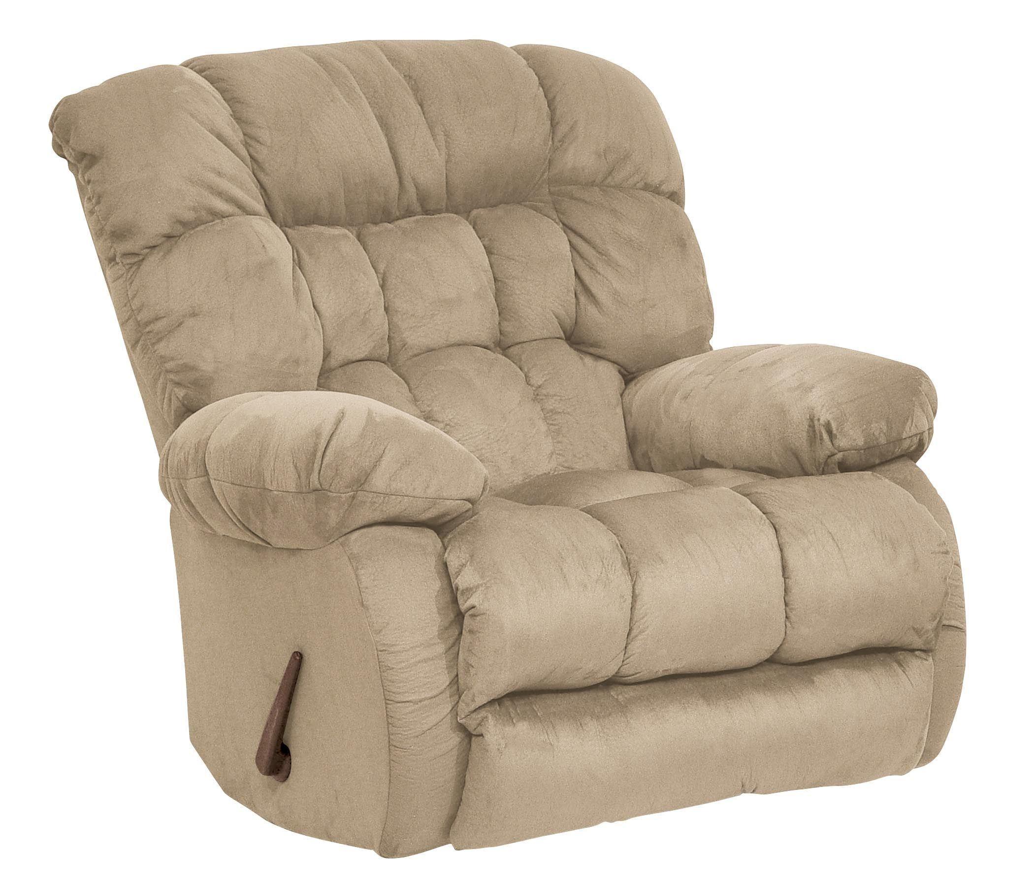 Teddy bear hazelnut inch away recliner from catnapper for Catnapper cloud nine chaise recliner
