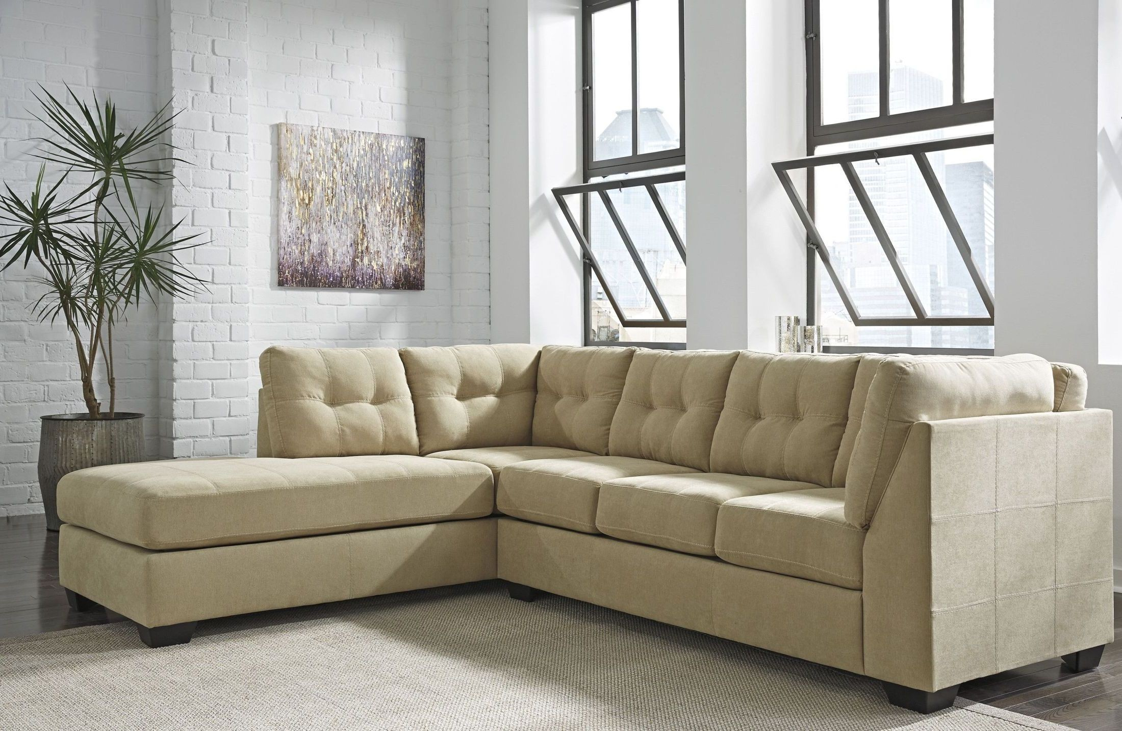 Maier Cocoa LAF Sectional from Ashley